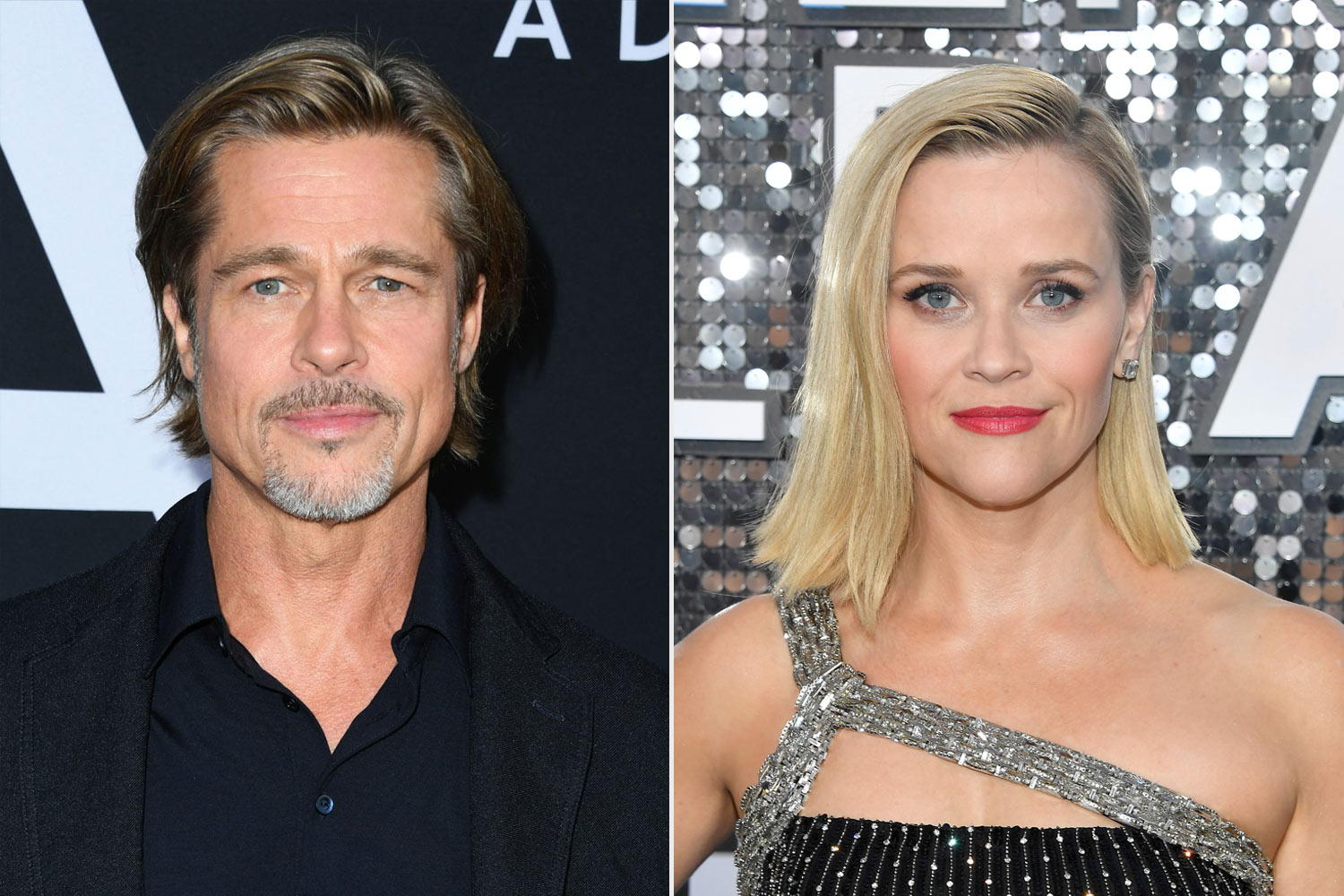 Brad Pitt and Reese Witherspoon
