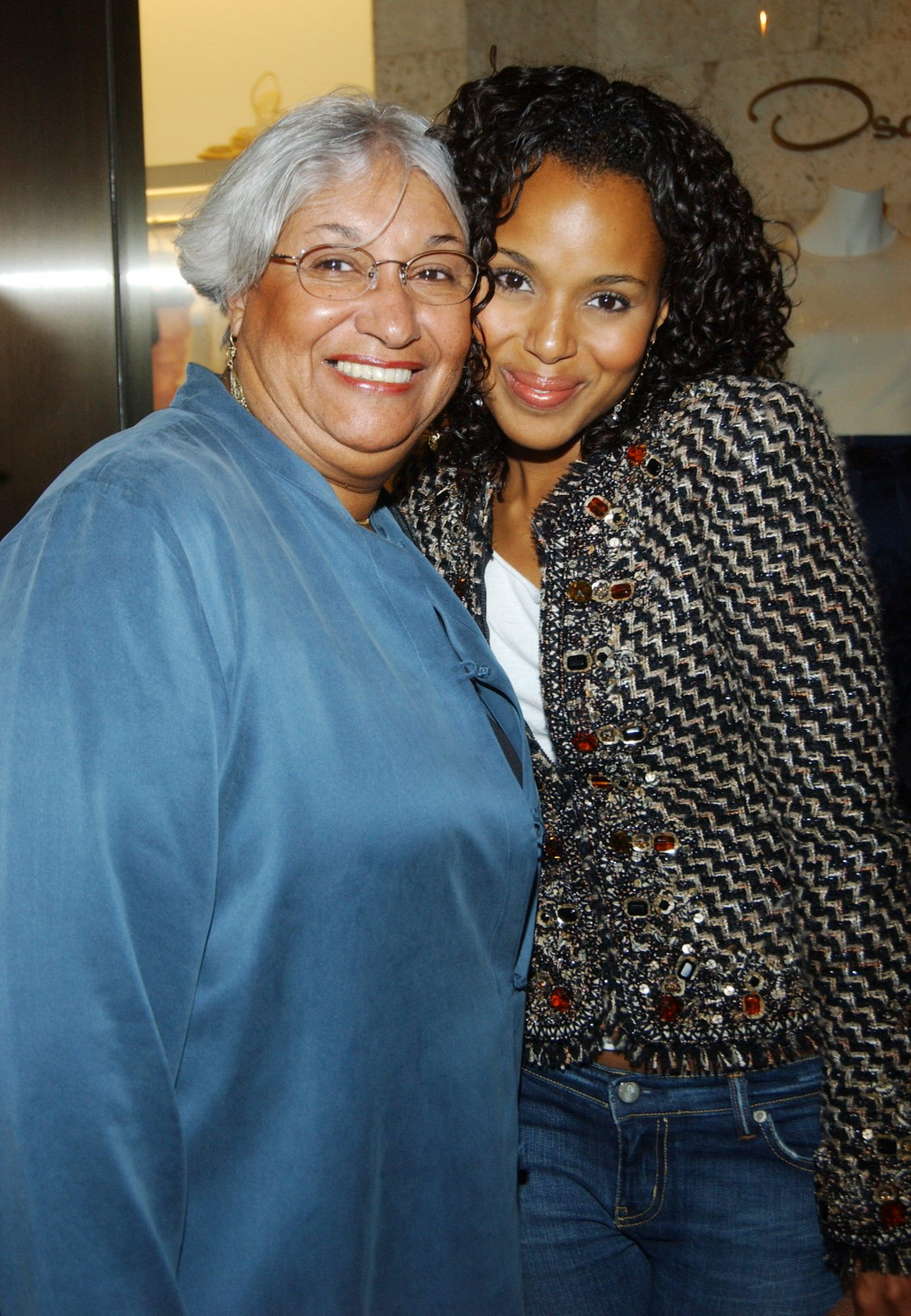 kerry washington and mother