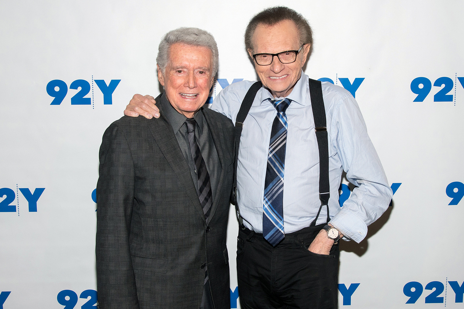 Regis Philbin and Larry King