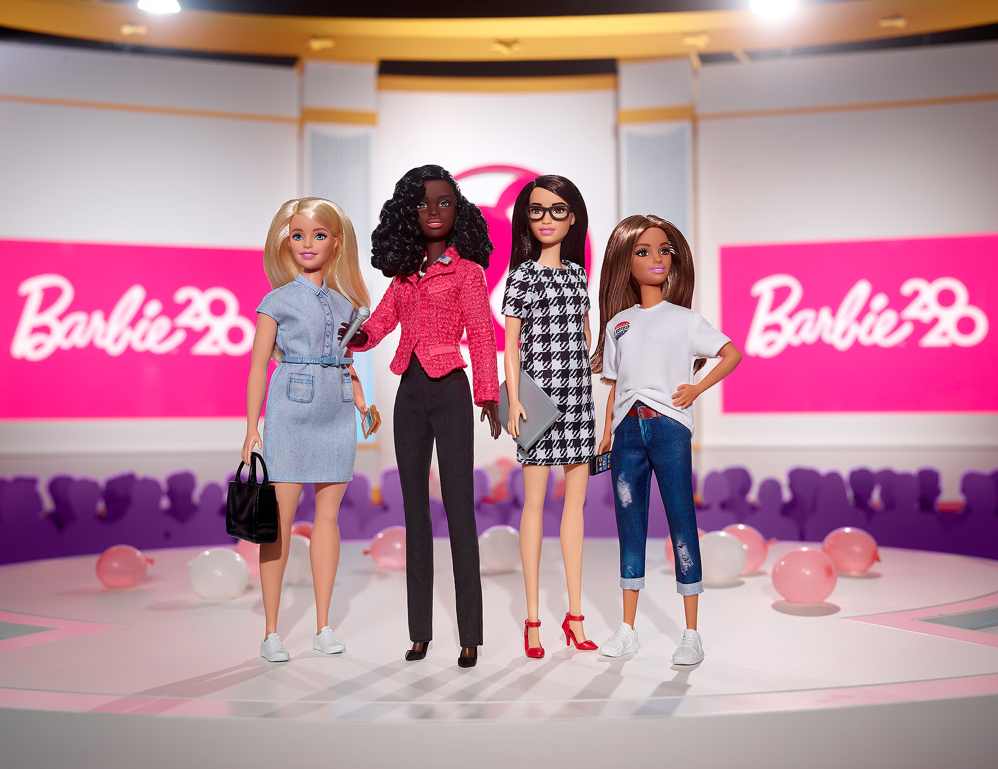 Barbie Unveils Collection of Politically-Inspired Dolls, Including Candidate and Voter