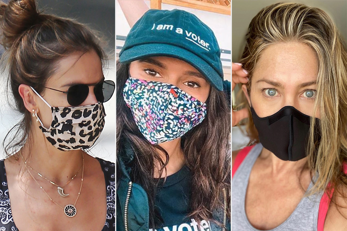 celeb facemasks