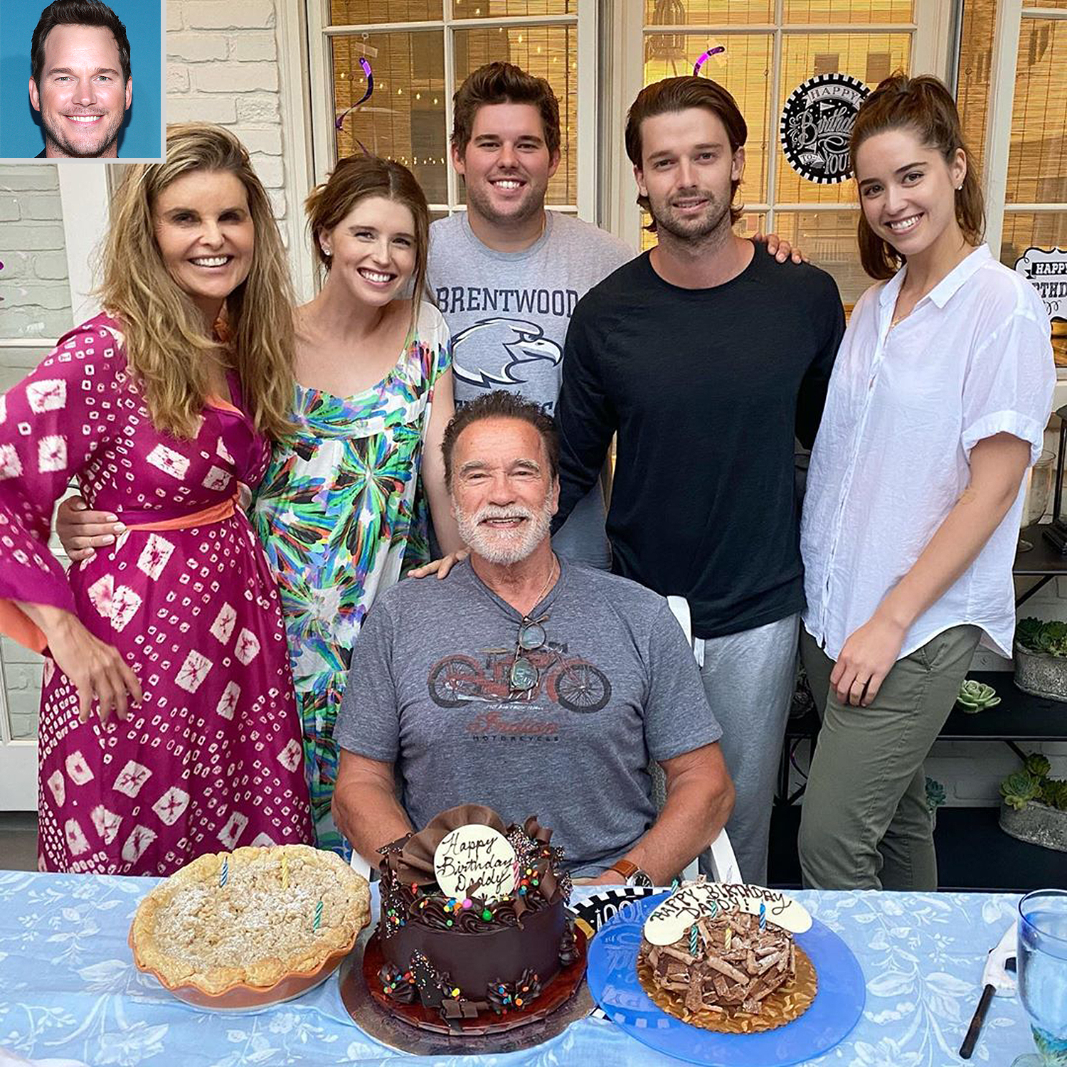 Schwarzenegger family, Chris Pratt