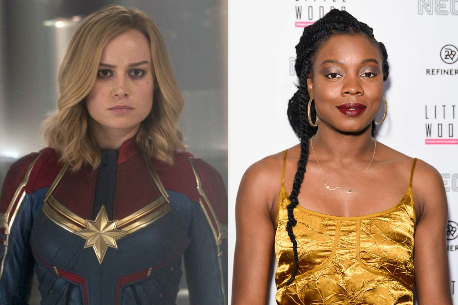 Brie Larson and Nia DaCosta