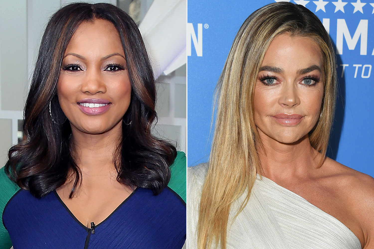 Garcelle Beauvais (left) and Denise Richards