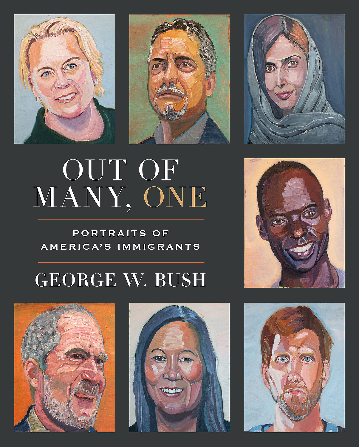 George W. Bush book of immigrant paintings