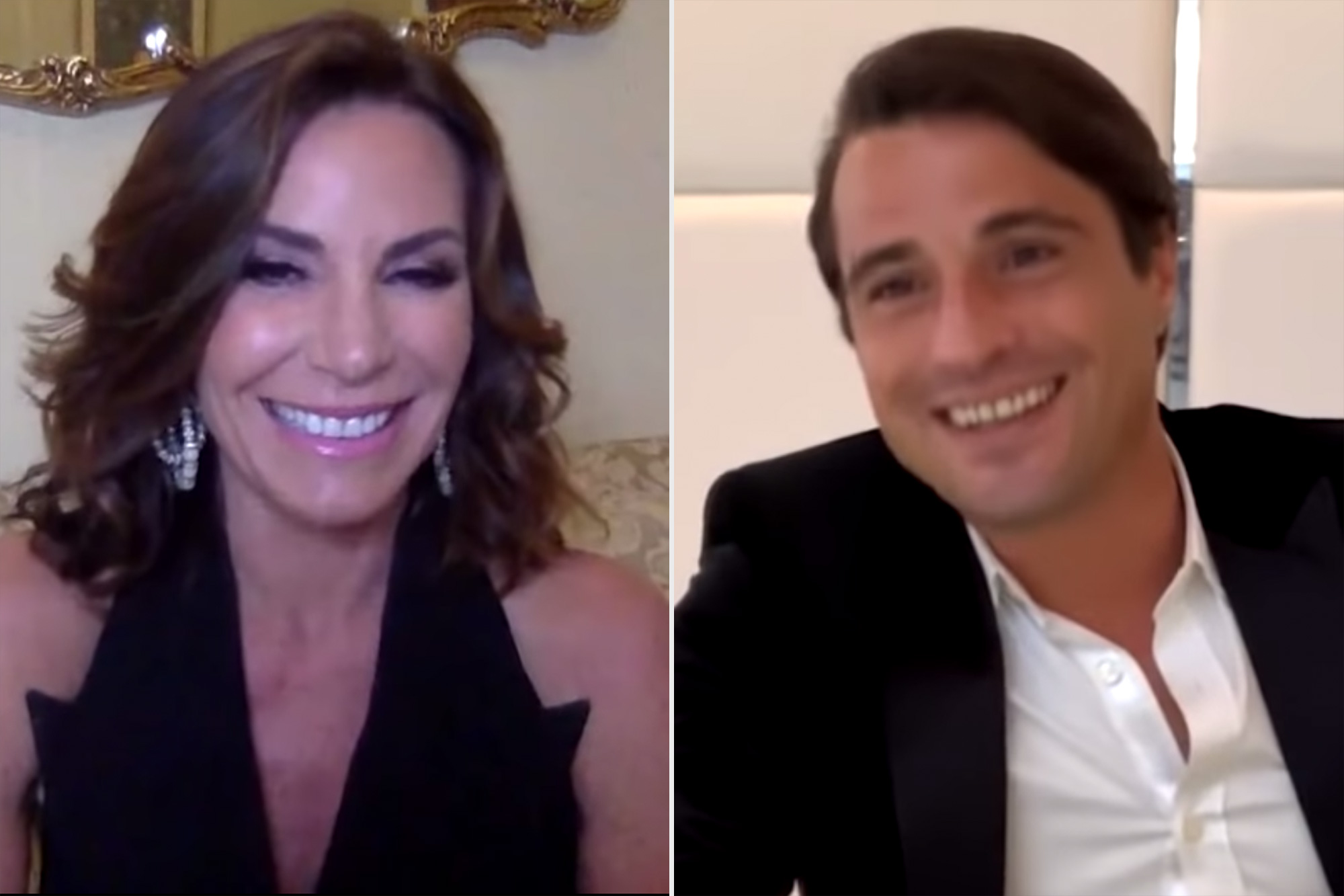 "Luann de Lesseps from ""Real Housewives of New York City"" gets a surprise when Tomas ""The Pirate"" Ribeiro joins her and Andy Cohen to play a fun game."