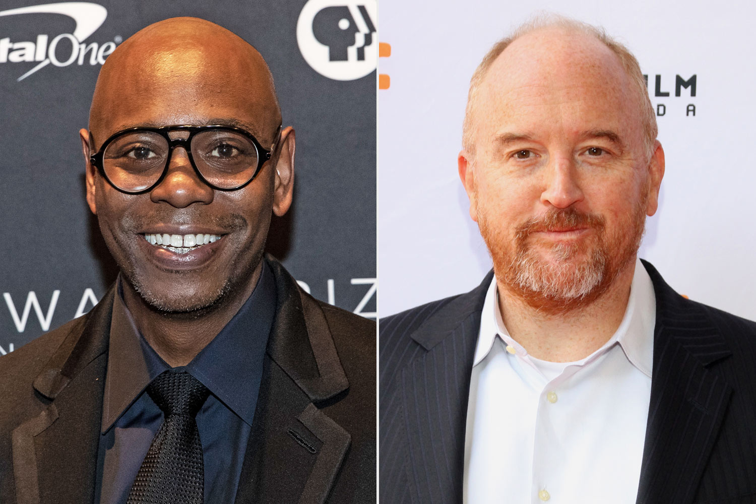Dave Chappelle and Louis C.K.