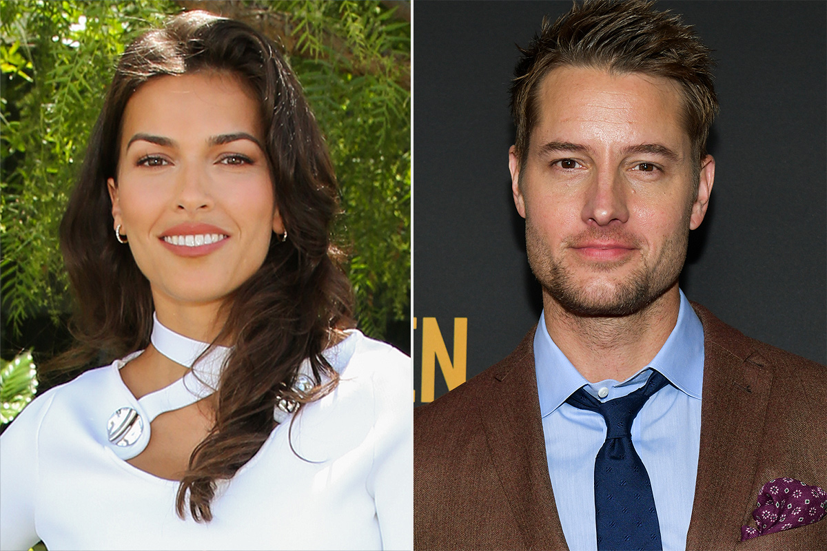 Justin Hartley's Girlfriend Sofia Pernas Goes Public with Their Relationship
