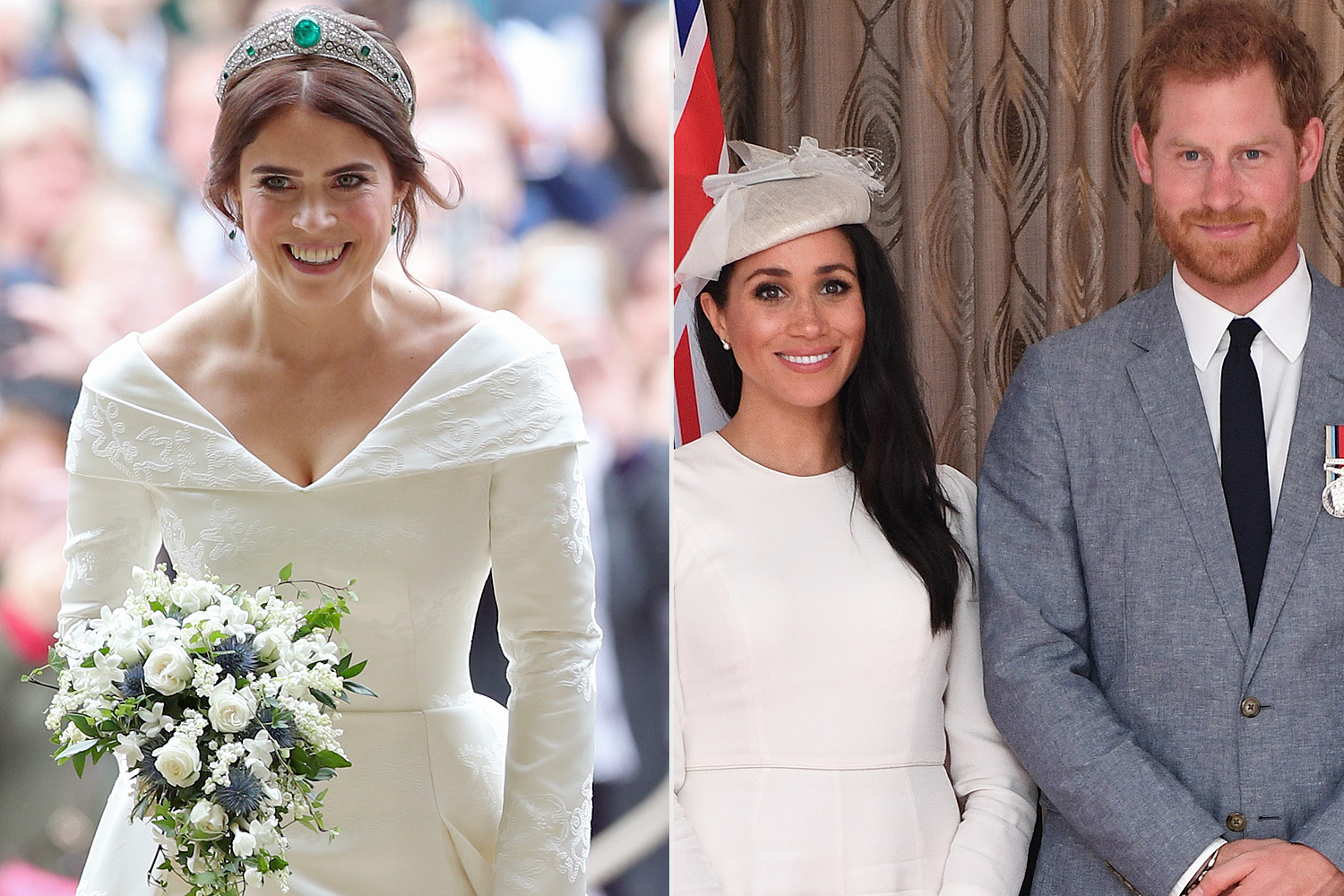 Princess Eugenie, Meghan and Harry