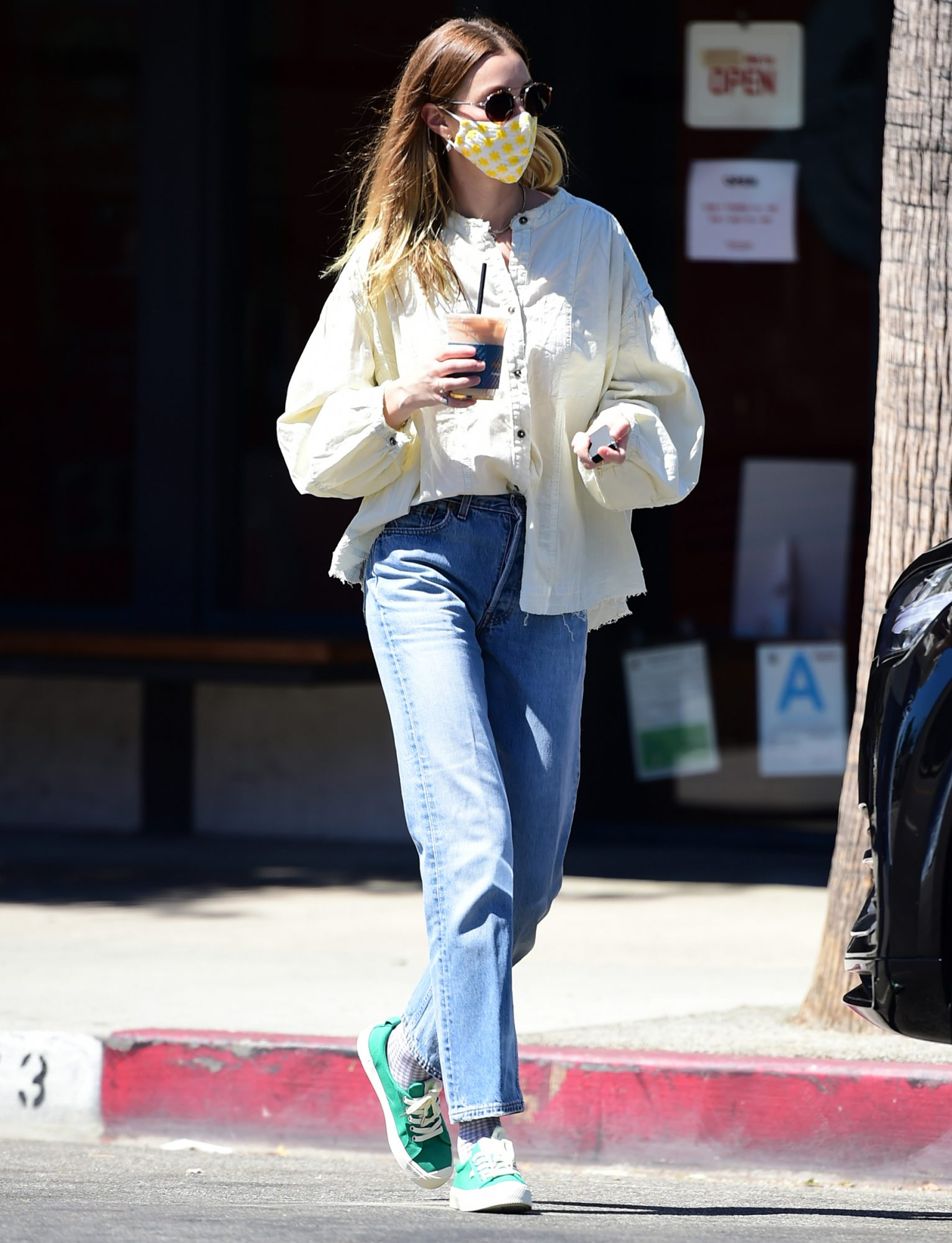 Whitney Port is Pictured on a Coffee Run in Los Angeles.