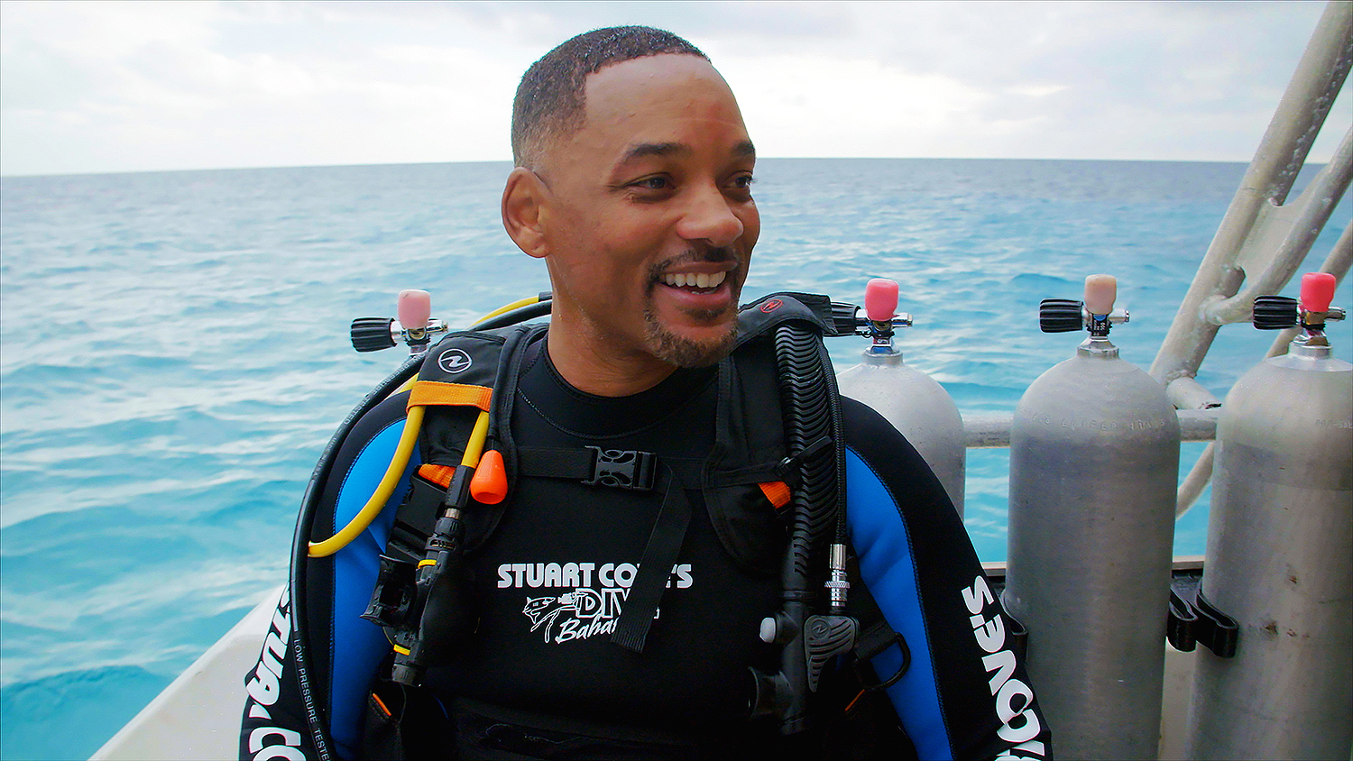 Will Smith diving