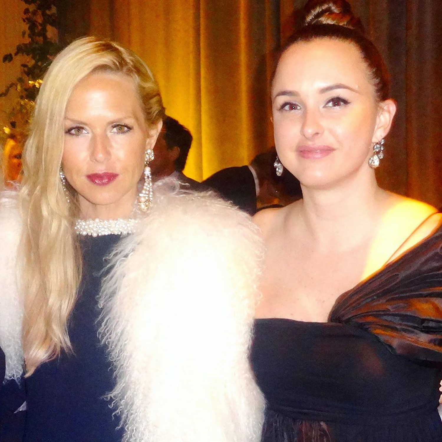 Hilary Tish and Rachel Zoe