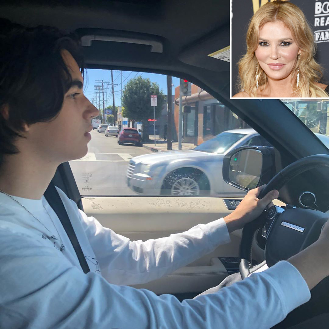 Brandi Glanville's Eldest Son Is All Grown Up and Driving: 'Pray for Me'
