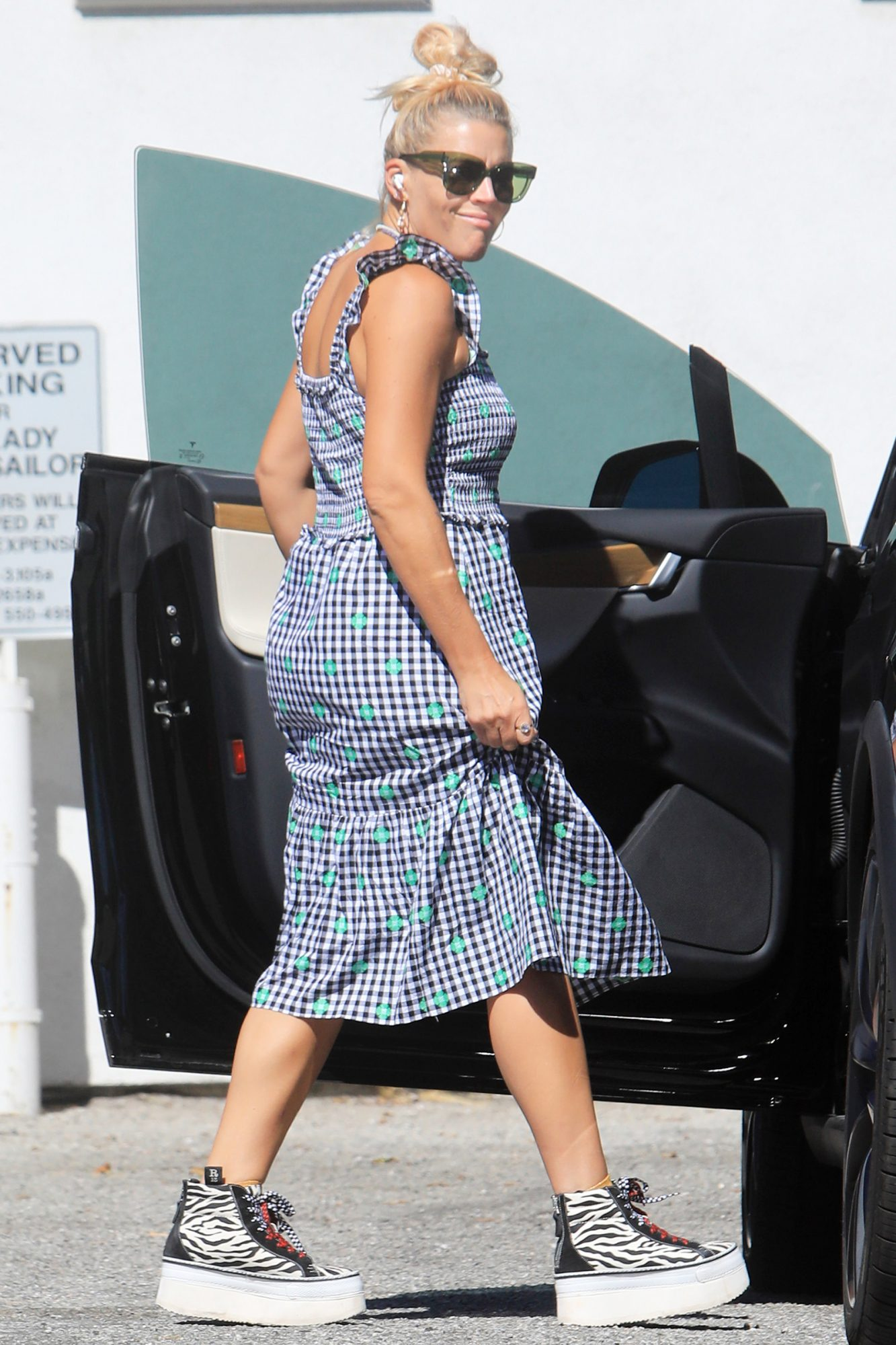 Busy Philipps is Pictured Out Running Errands in West Hollywood