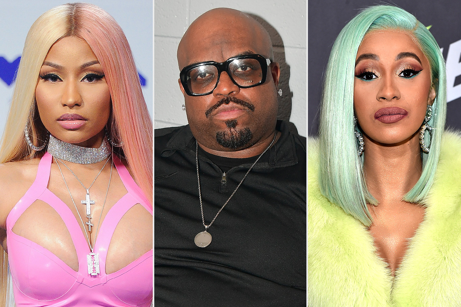 CeeLo Green, Cardi B and Nicki Minaj