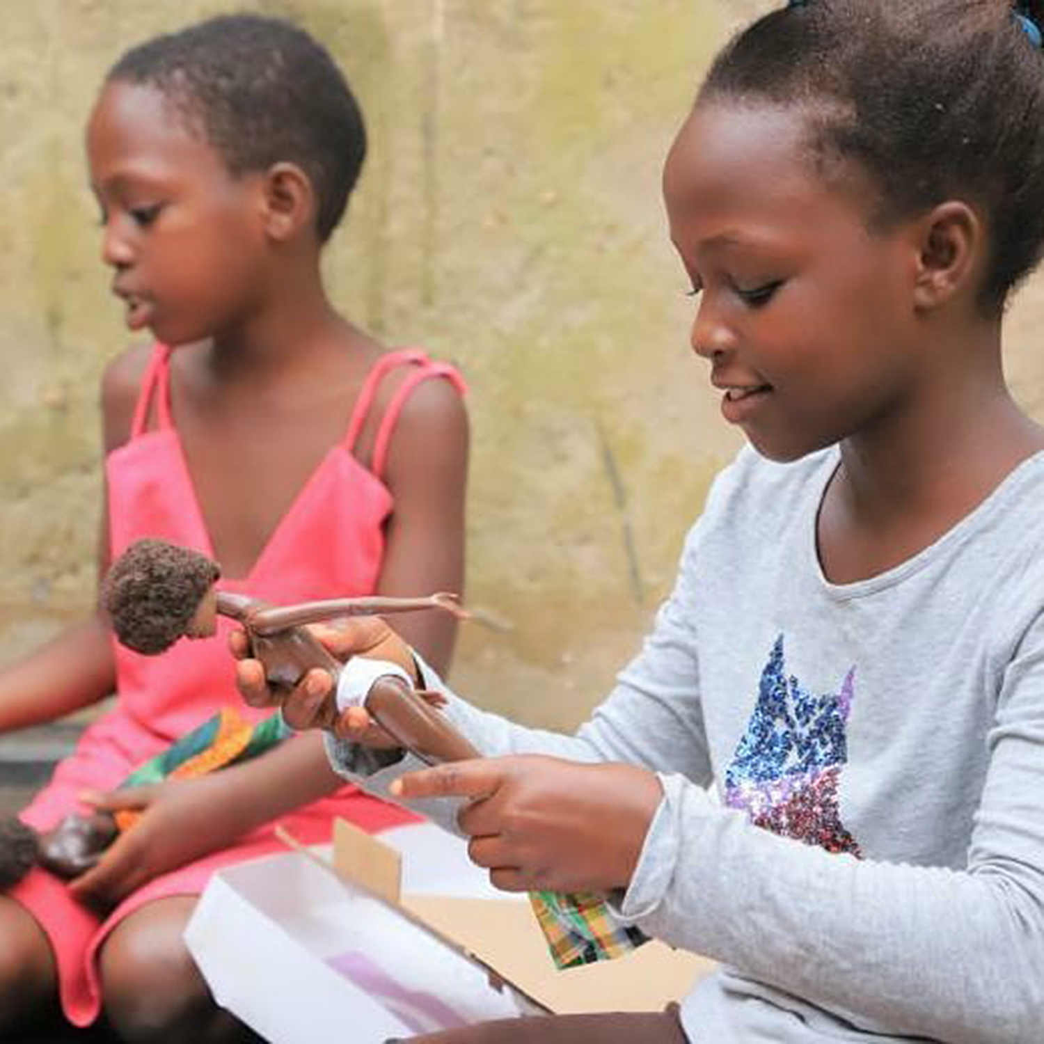 woman sends Black dolls to orphanage
