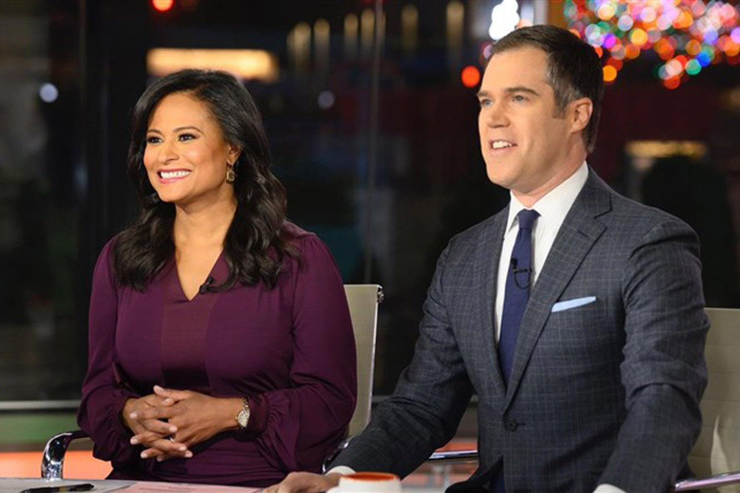 Kristen Welker and Peter Alexander On