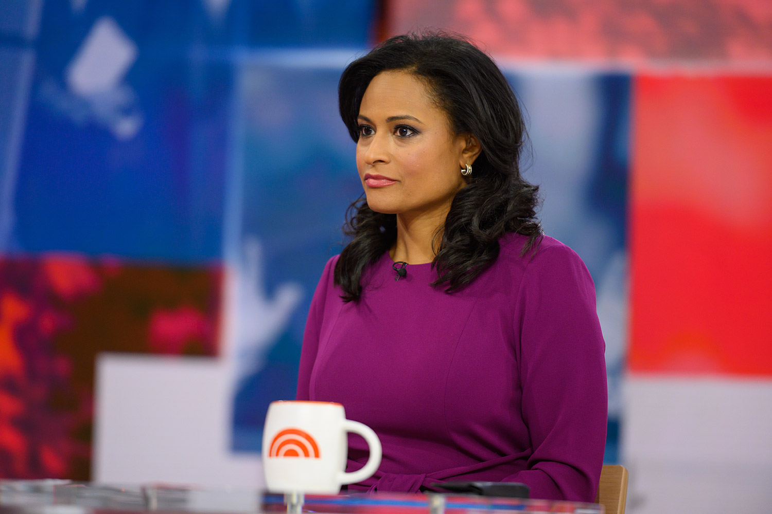 Kristen Welker and Peter Alexander
