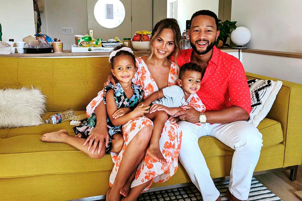 Chrissy Teigen Was 'Shocked' by Pregnancy
