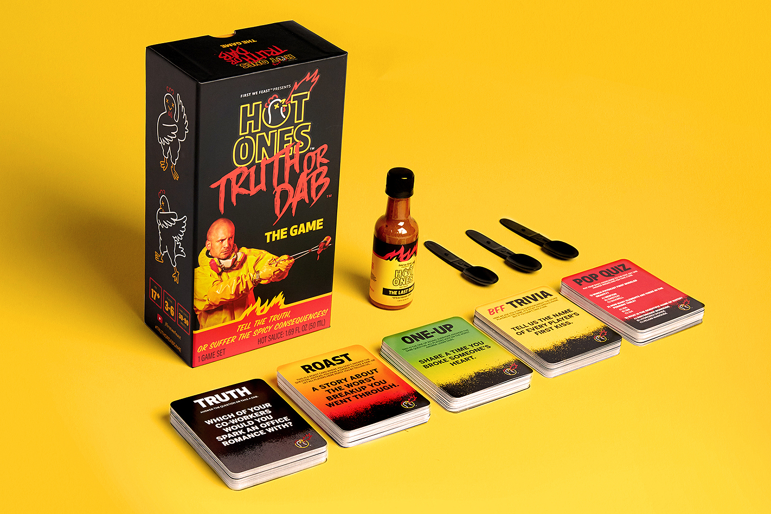 Hot Ones card game