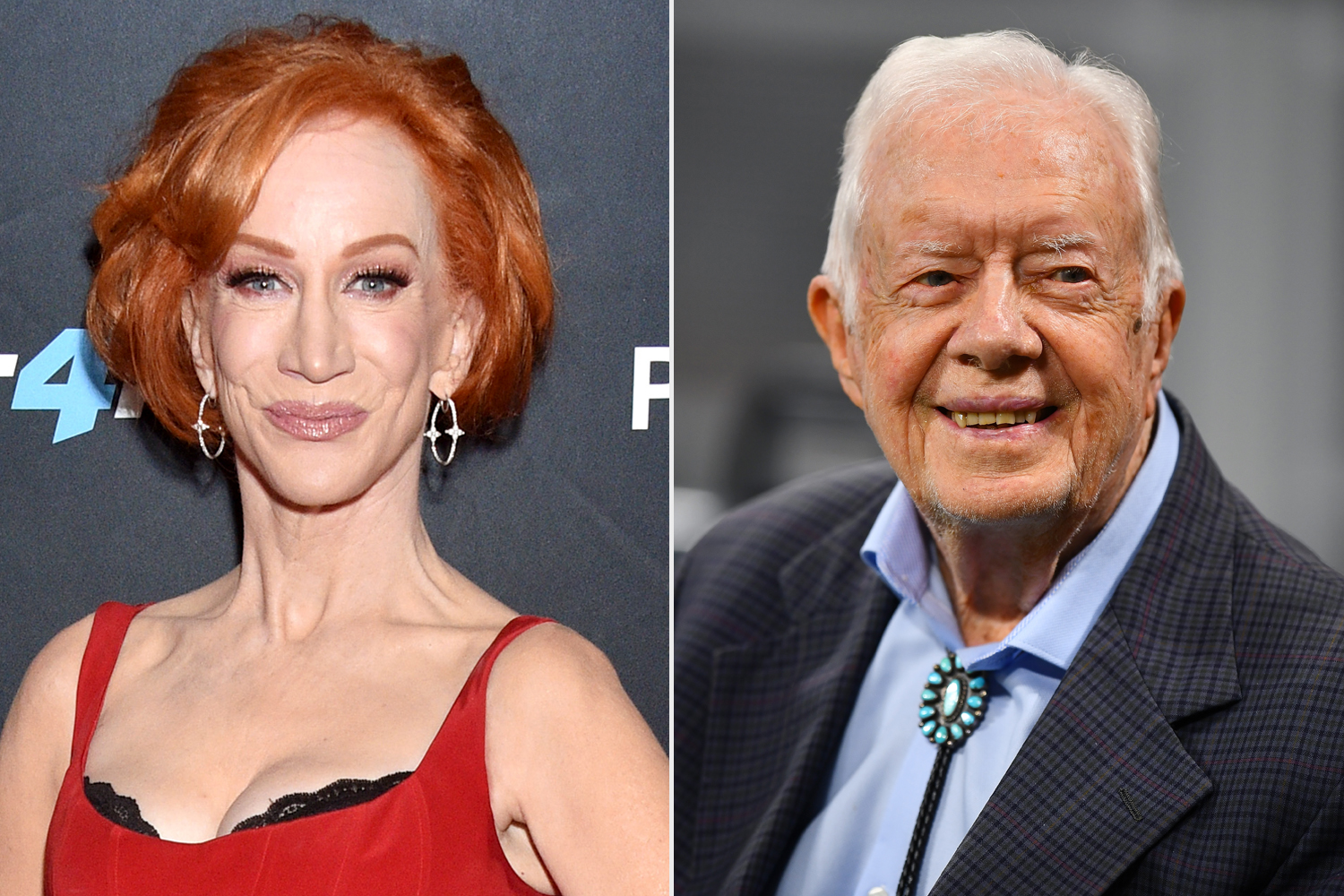 Kathy Griffin; Jimmy Carter