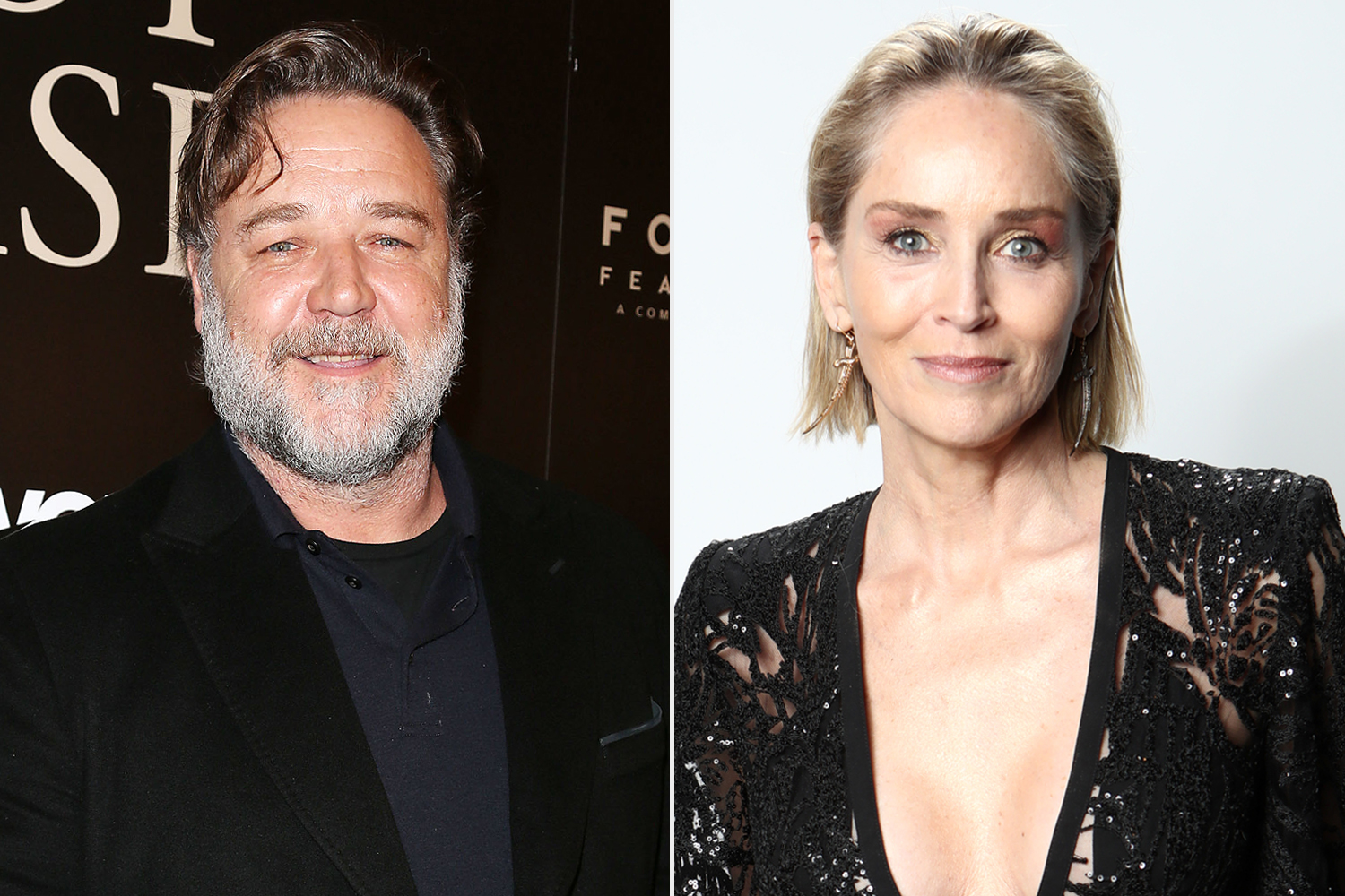 Russell Crowe; Sharon Stone
