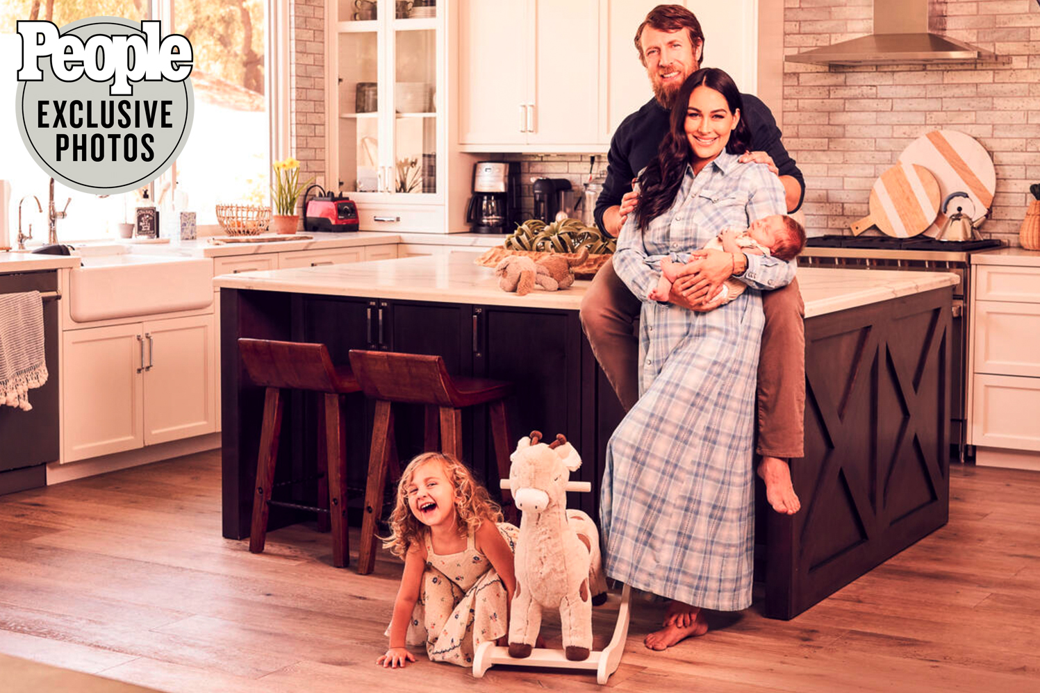 brie bella and her family
