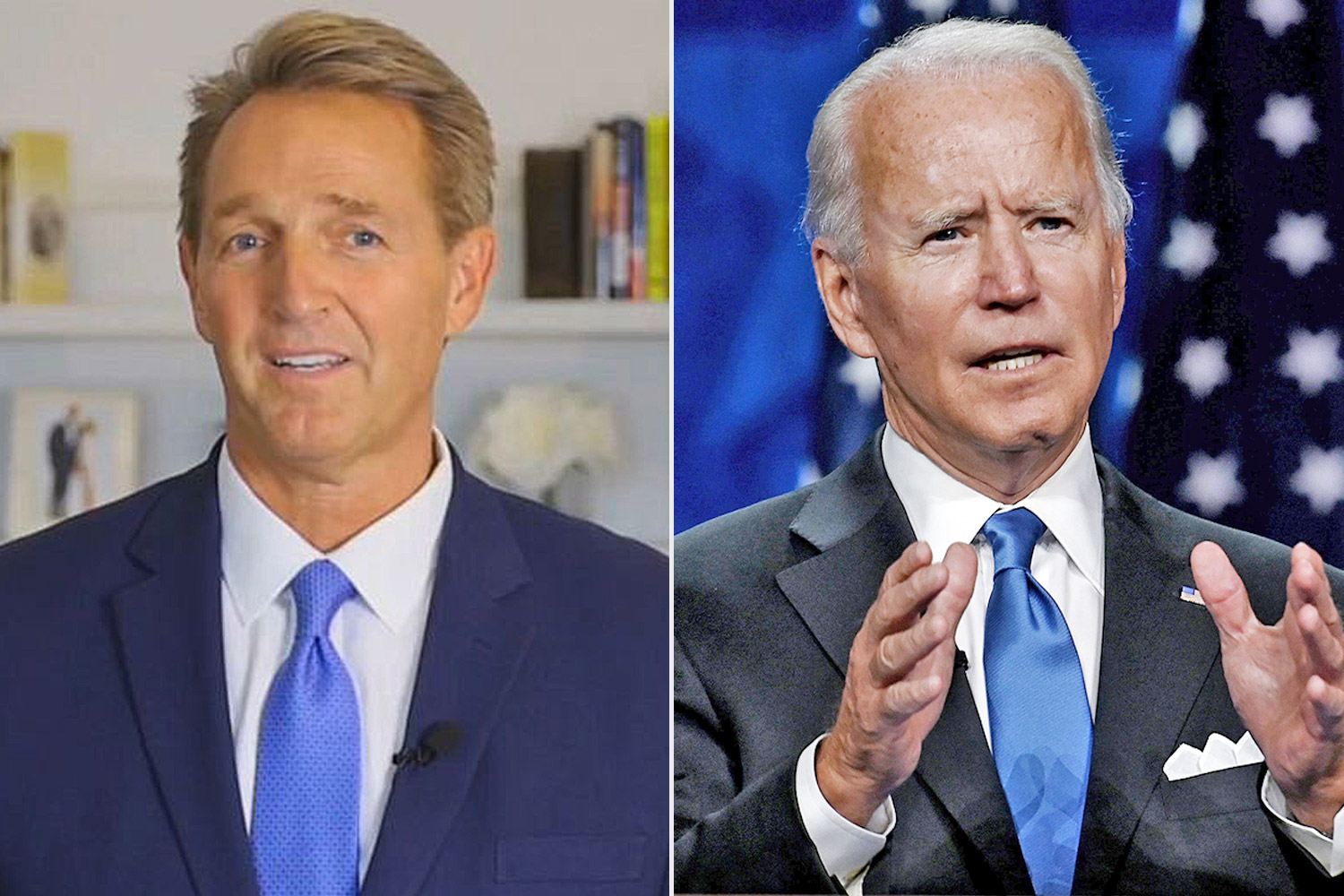 Jeff Flake, Joe Biden