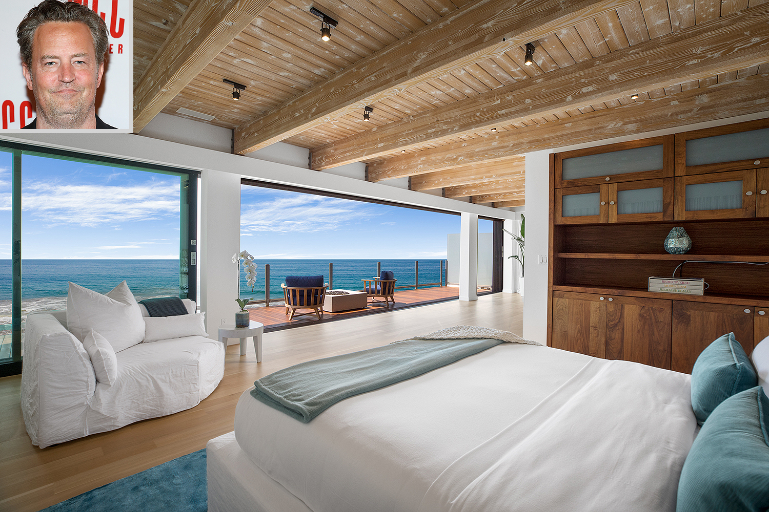 Matthew Perry Malibu Beach House