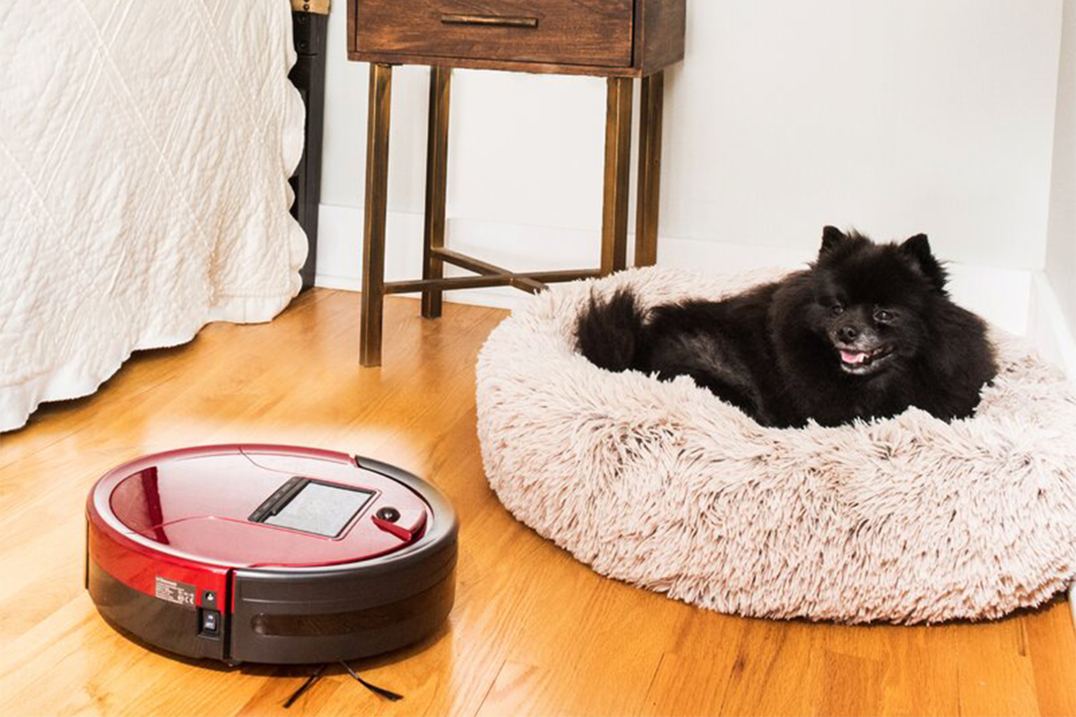 bObsweep PetHair Robotic Vacuum Cleaner with Mop Attachment