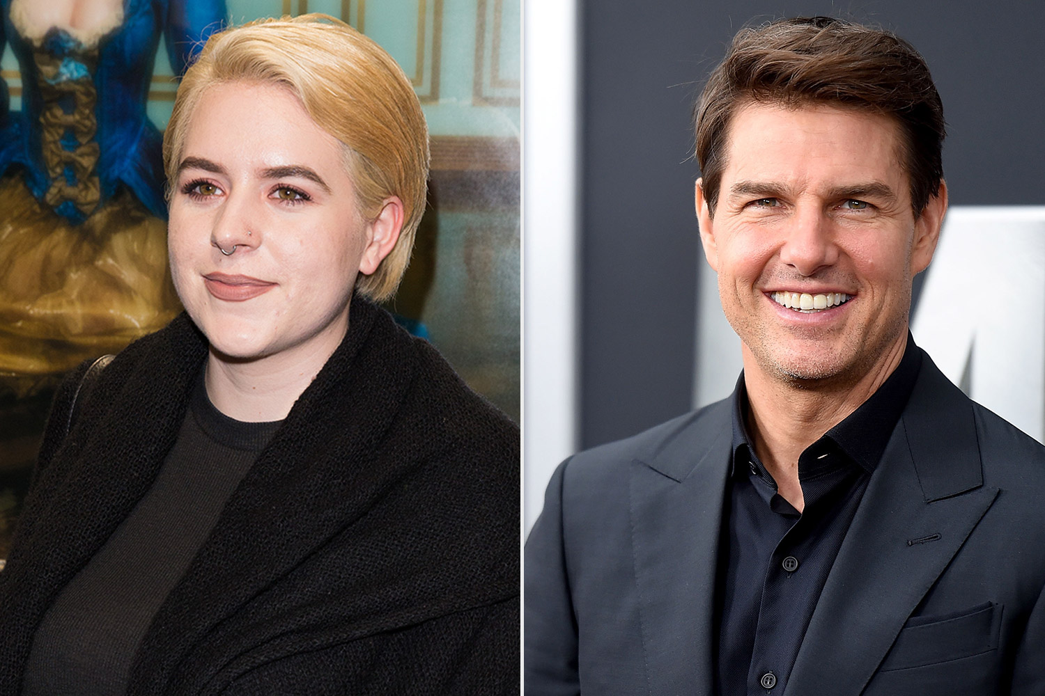 Isabella and Tom Cruise
