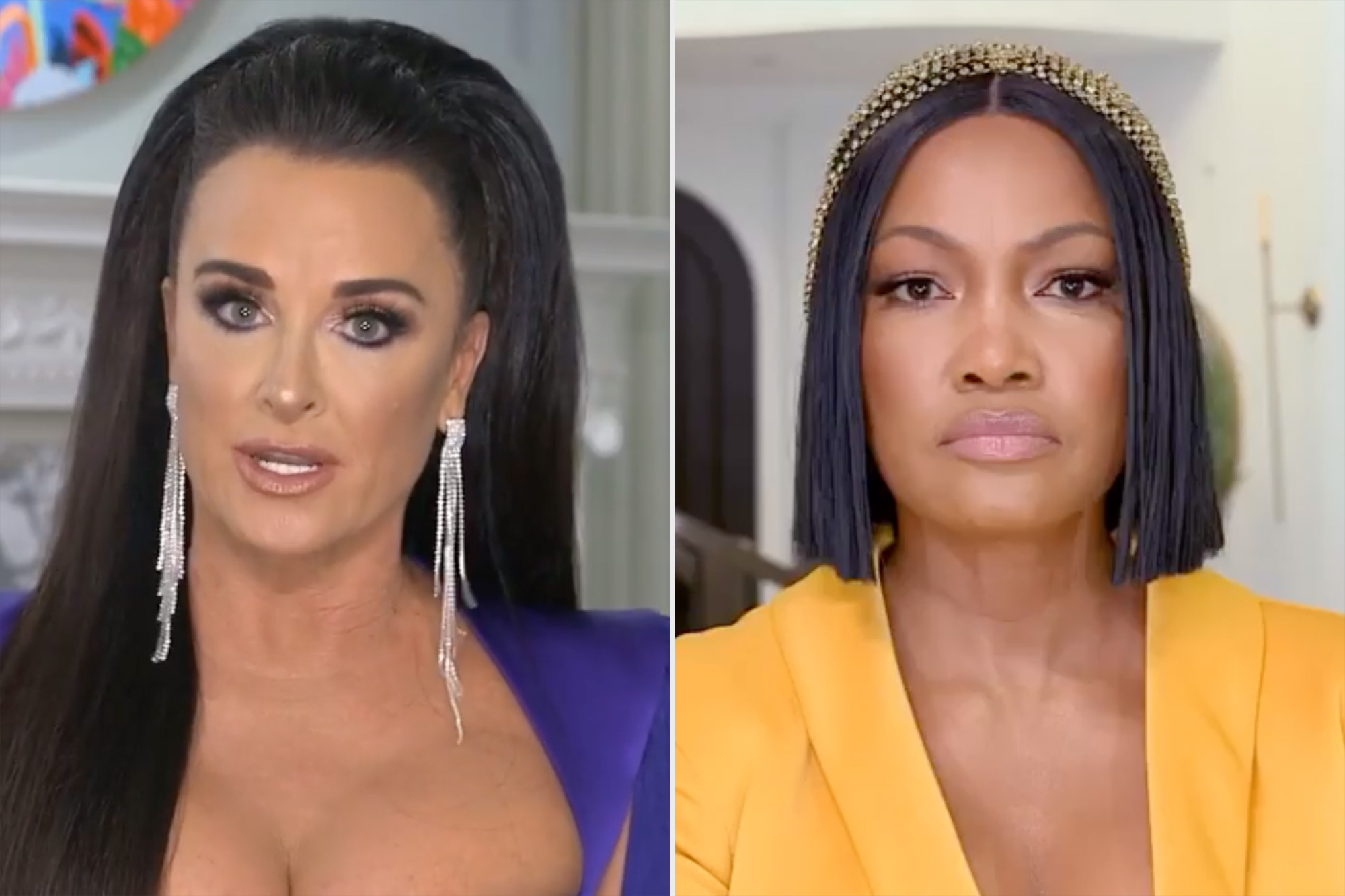 Kyle Richards Claims Garcelle Beauvais Never Paid $5000 Charity Donation