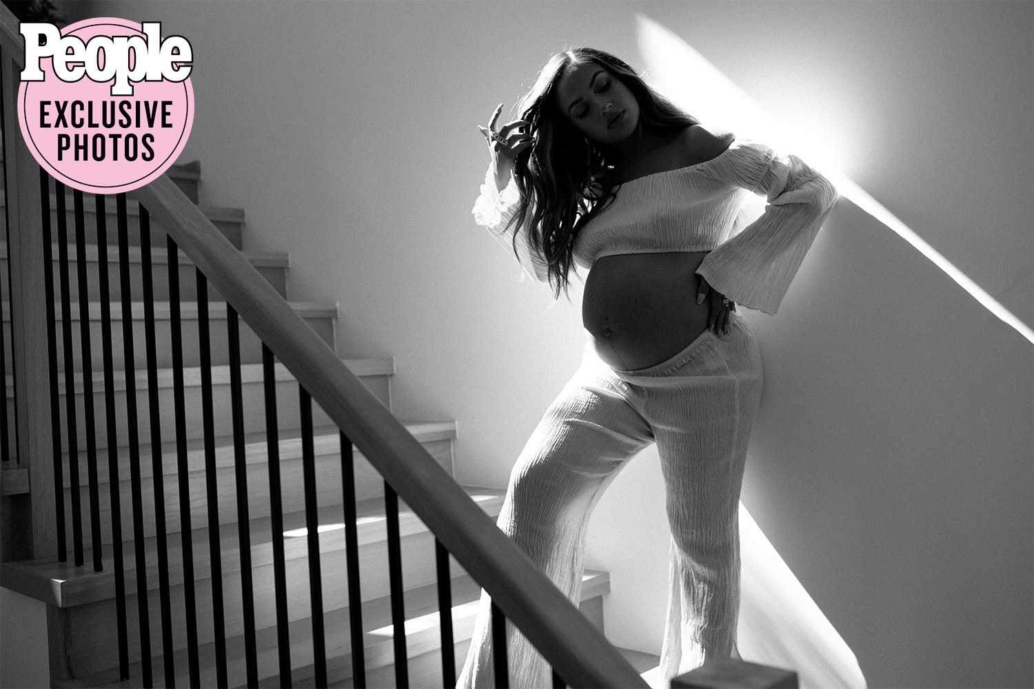 Inanna Sarkis Pregnancy Exclusive