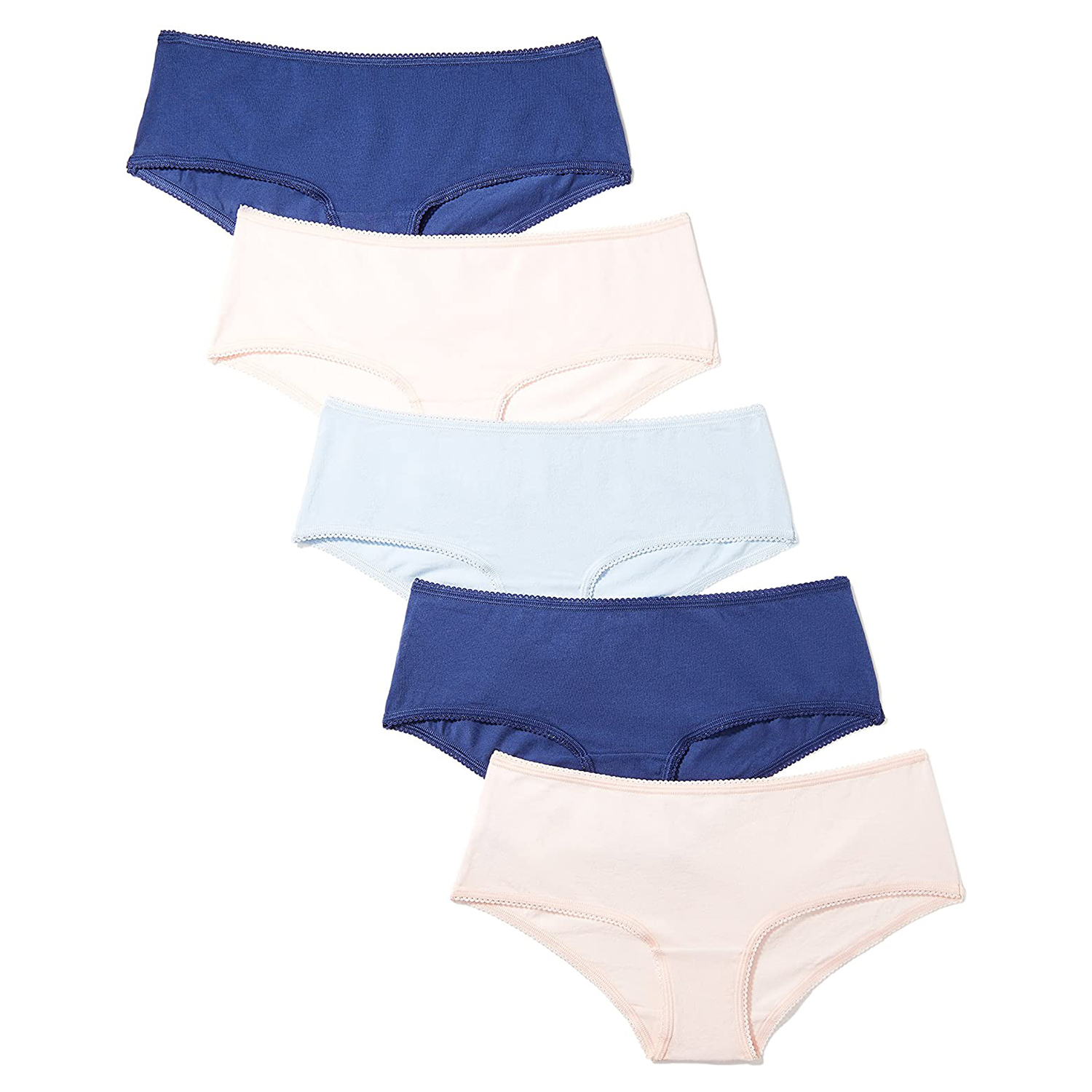 Iris and Lilly Cheeky Hipster Underwear Five-Pack