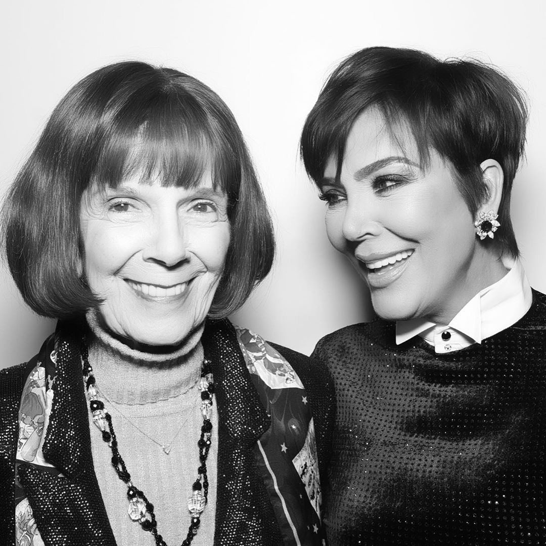 Mary Jo Shannon and Kris Jenner