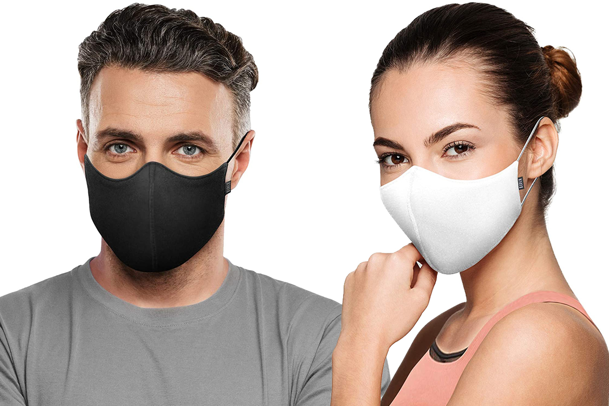 Bloch Soft Stretch Reusable Face Mask Pack of 3
