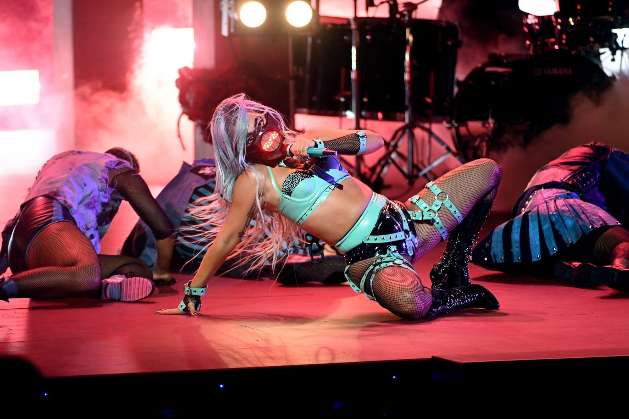 Lady Gaga performs during the 2020 MTV Video Music Awards, broadcast on Sunday, August 30th