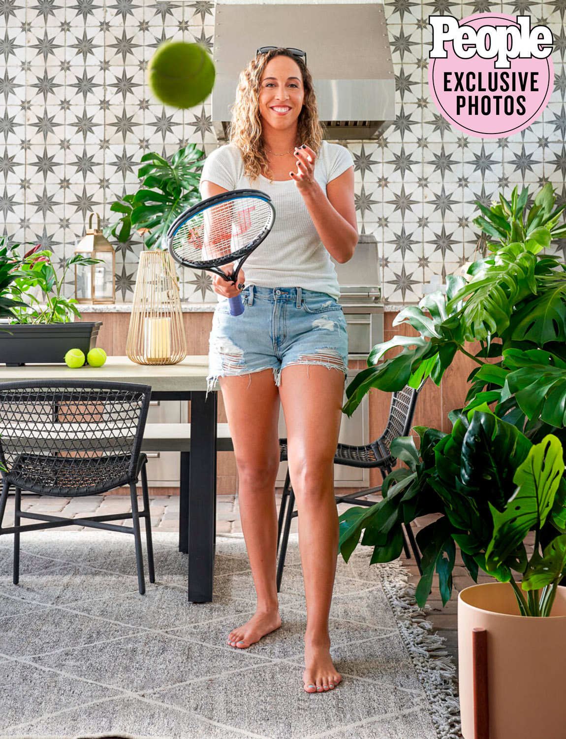 Madison keys home tour