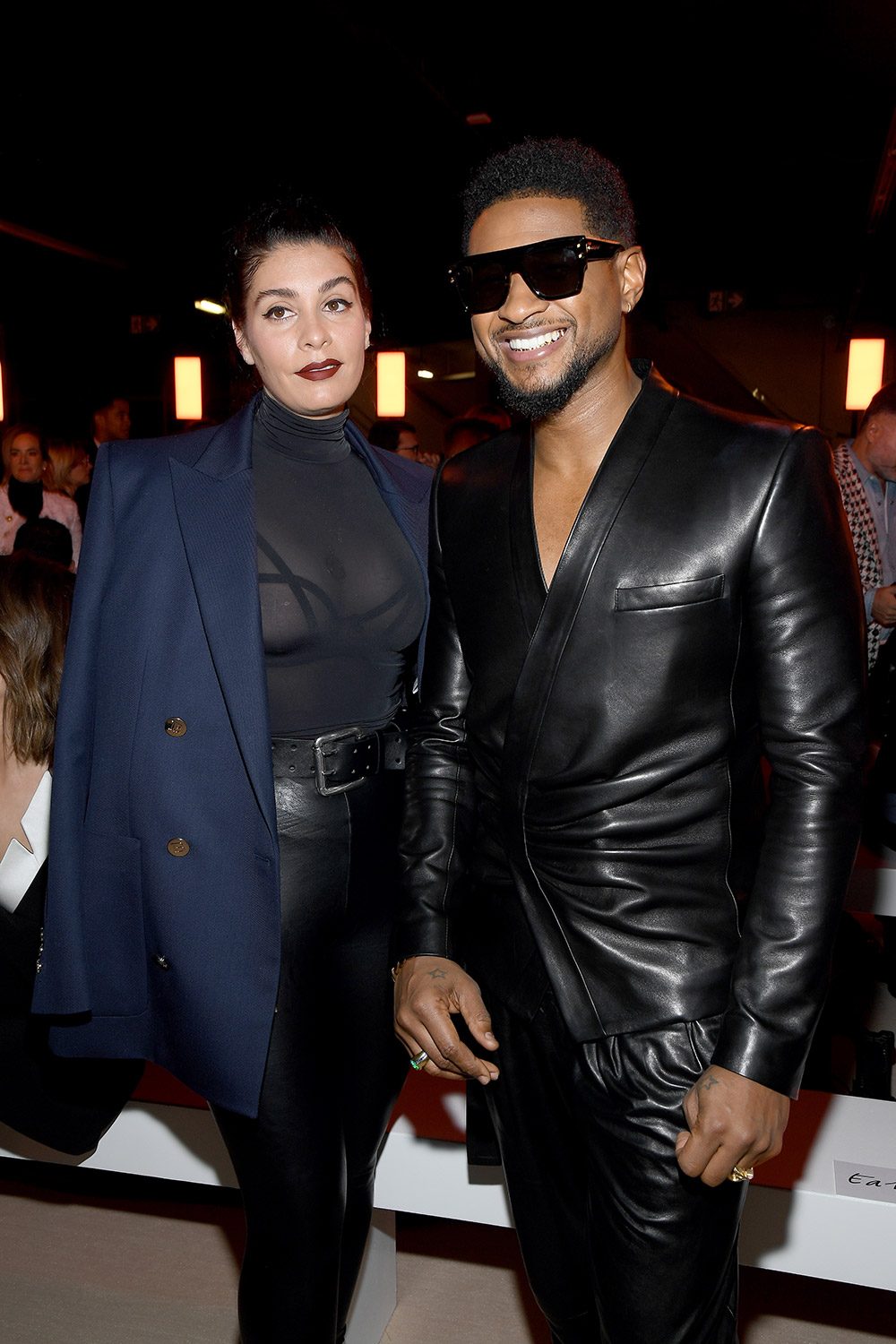 Jenn Goicoechea and Usher