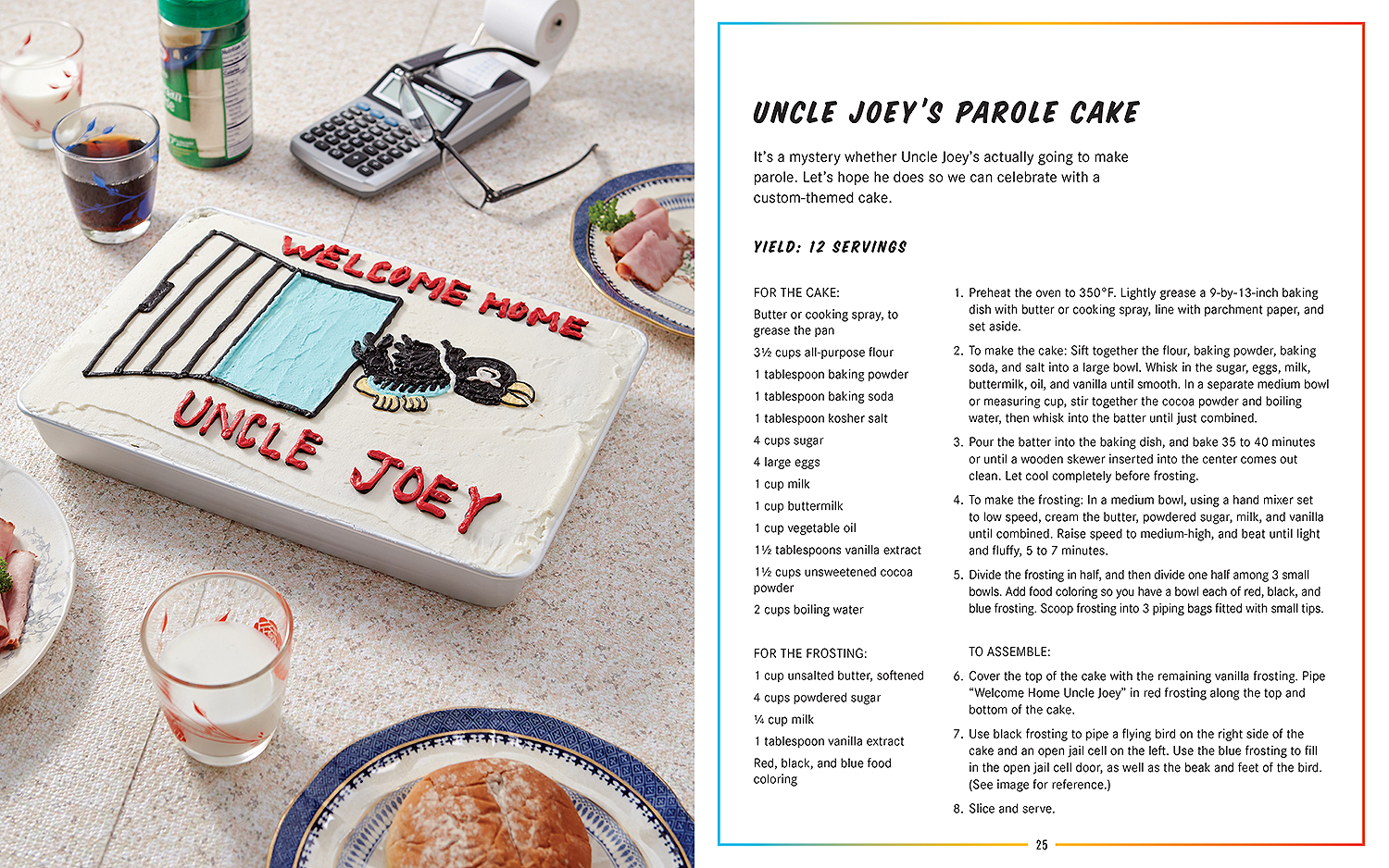 Back to the future cookbook