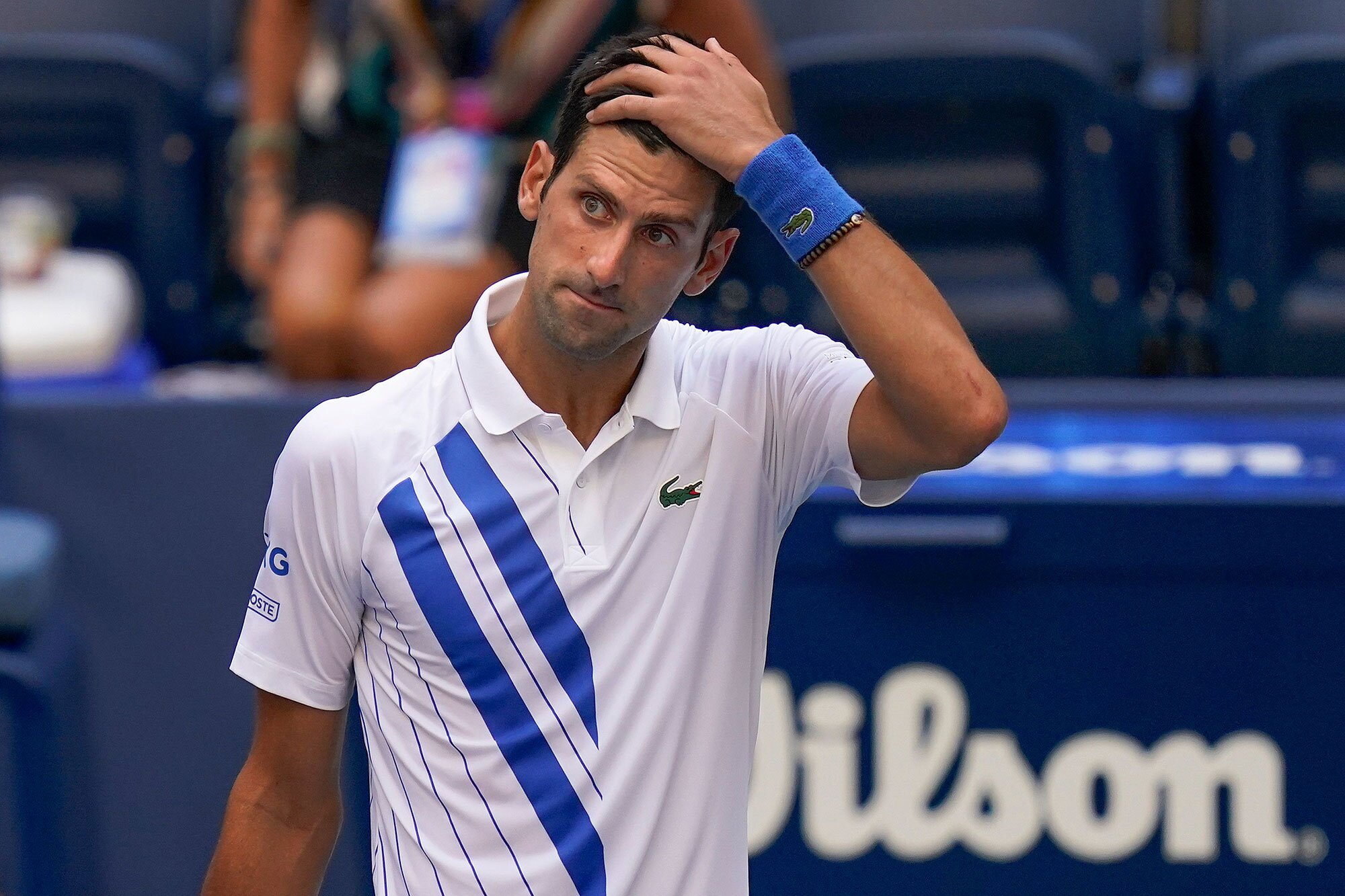 Novak Djokovic Agrees With U S Open Disqualification People Com