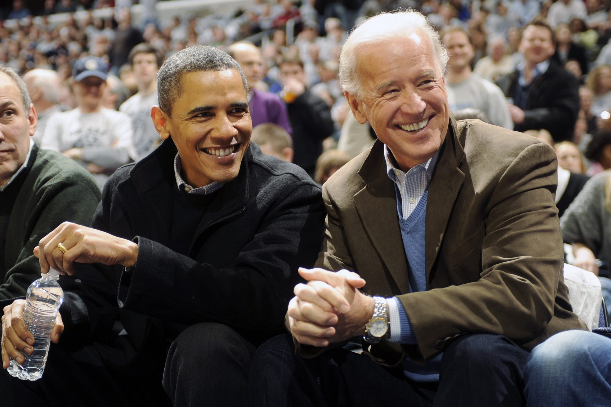President of the United States Barack Obama and Vice President Joe Biden