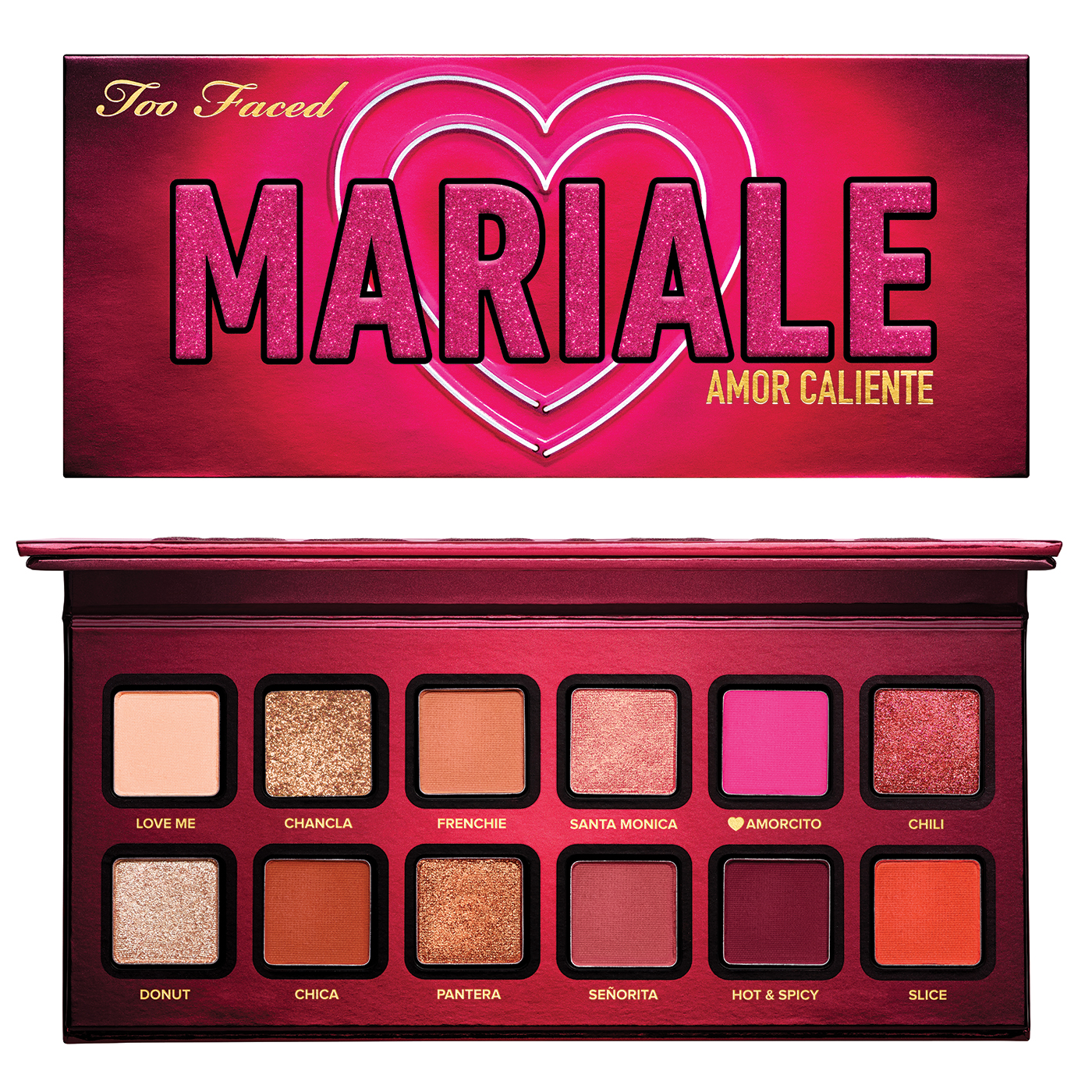 TooFaced Fall 2020 Mariale Amore Caliente Palette