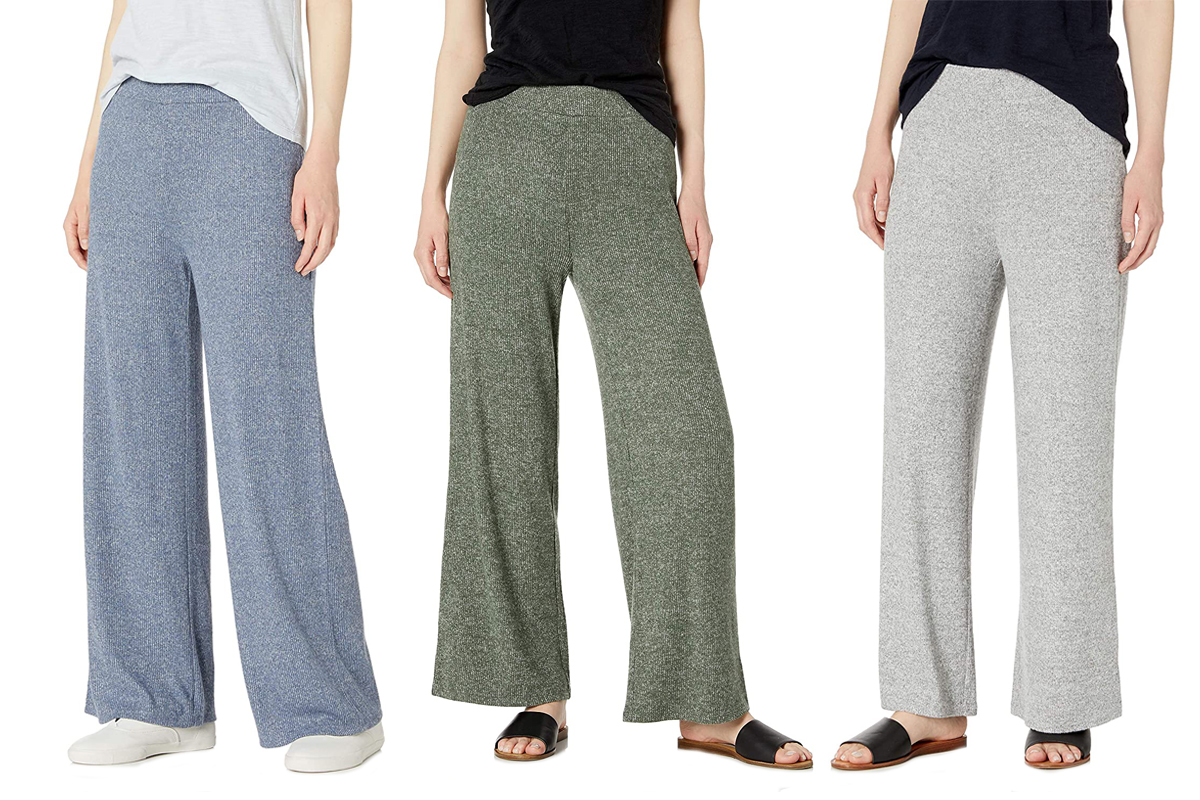 Daily Ritual Women's Cozy Knit Rib Lounge Pant