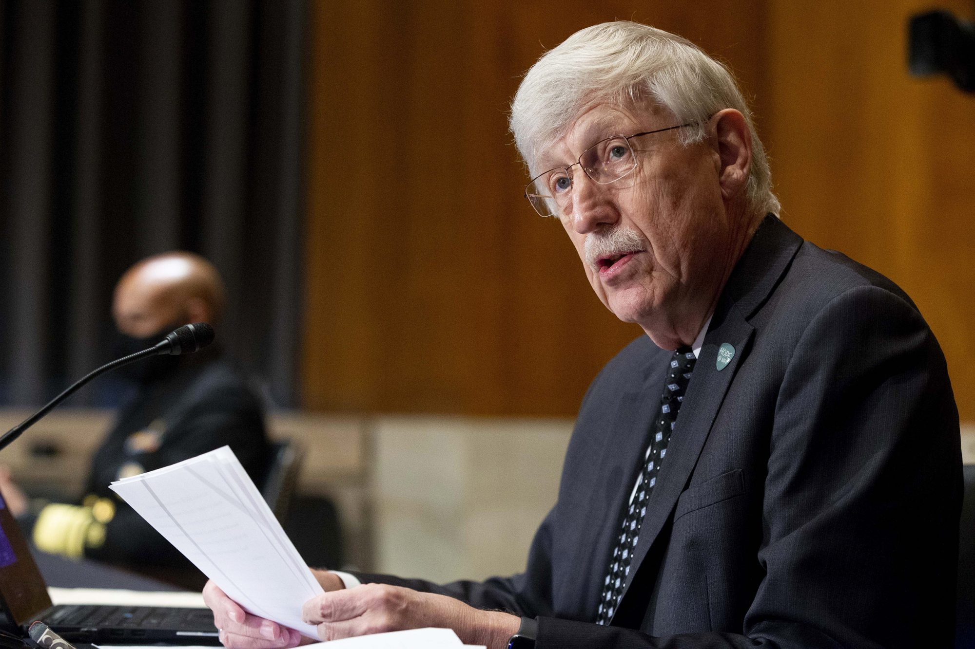 U.S. National Institutes of Health (NIH) Director Francis Collins