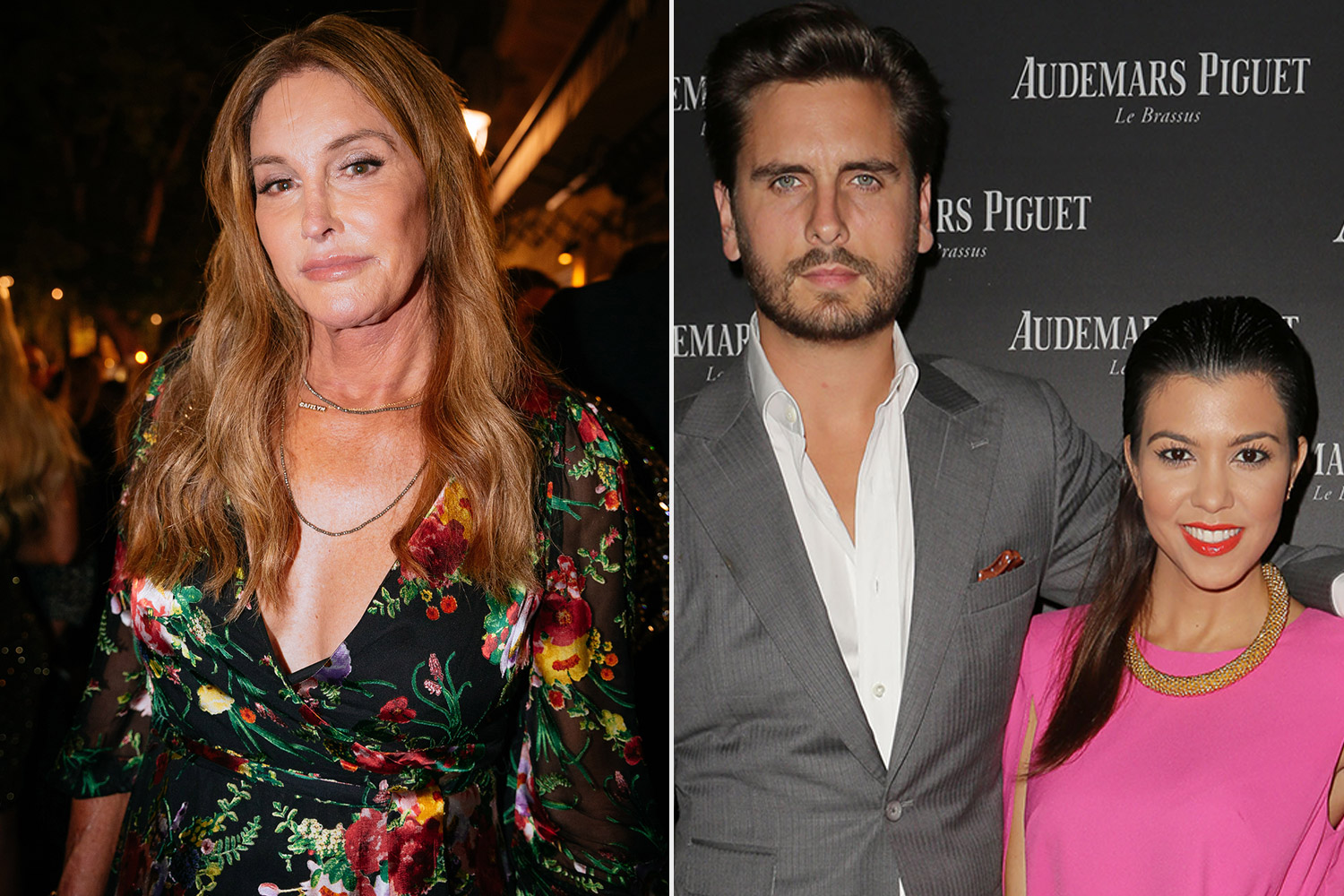 Caitlyn Jenner split with Kourtney and Scott