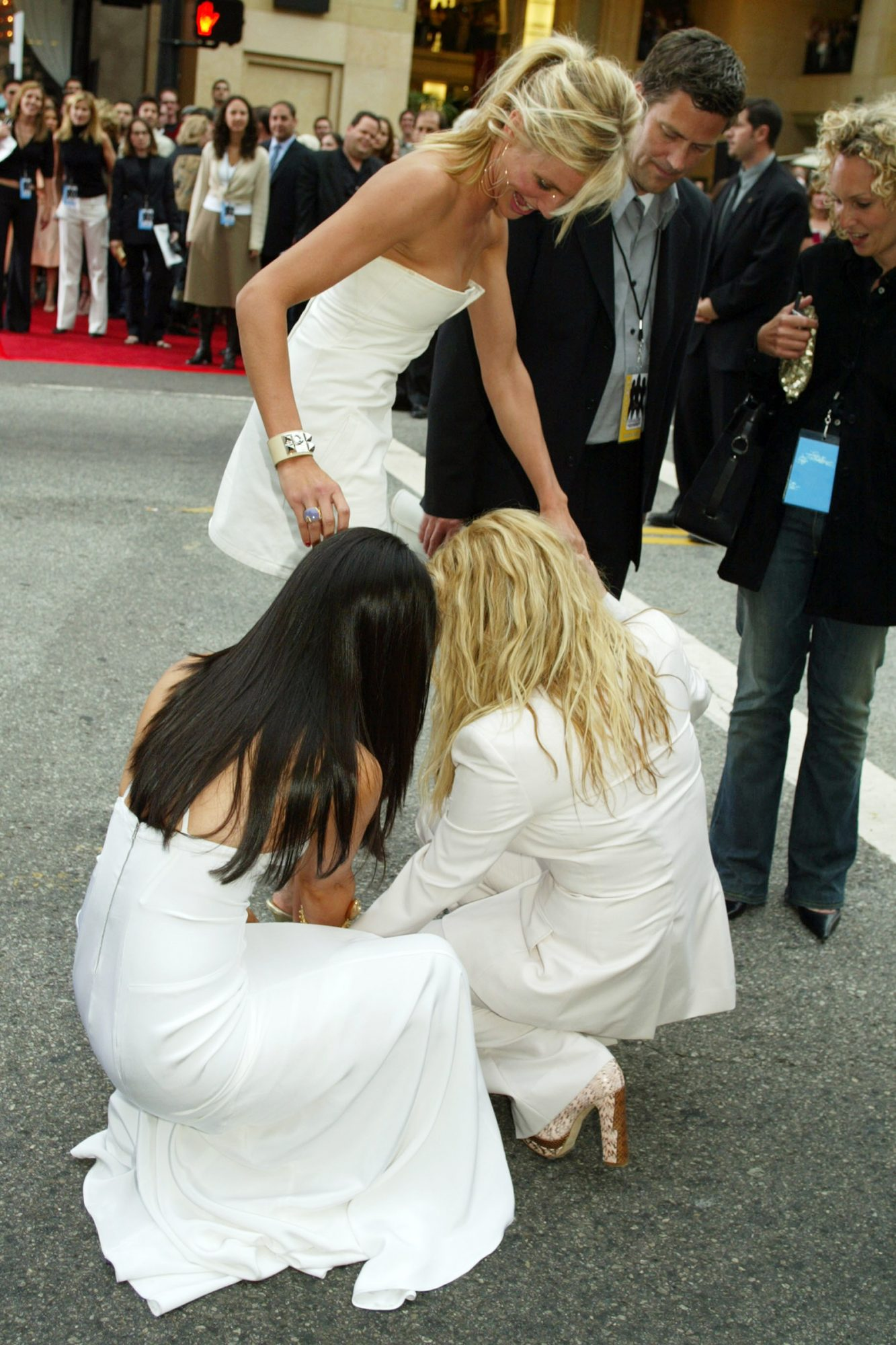Cameron Diaz, Drew Barrymore, and Lucy Liu Charlie's Angels