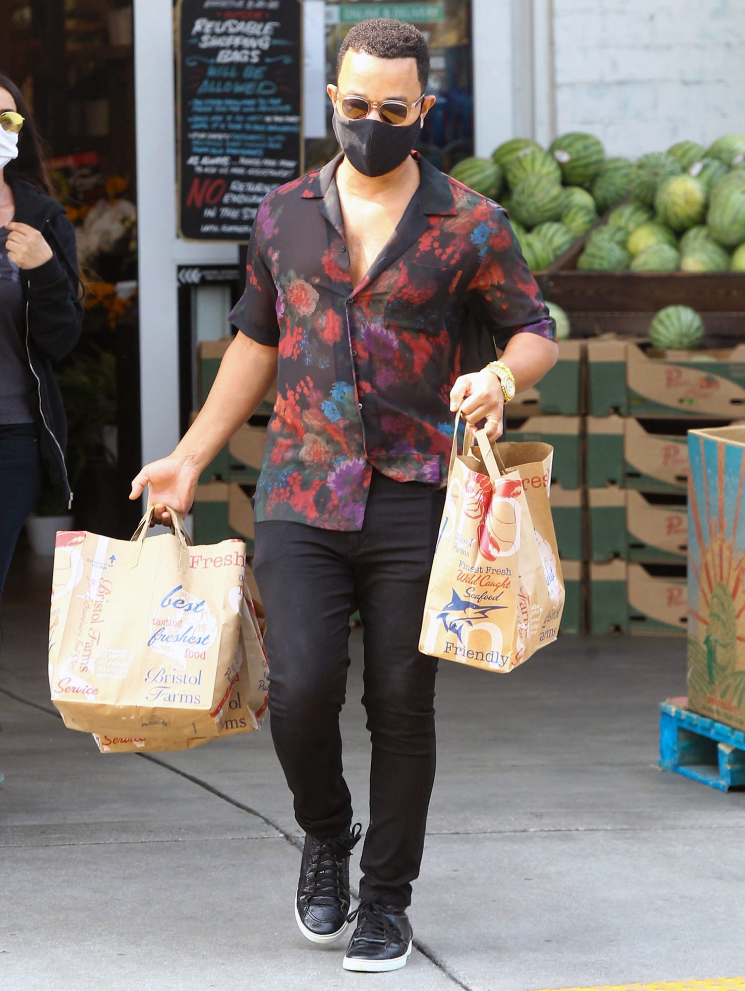 John Legend Seen Shopping In LA