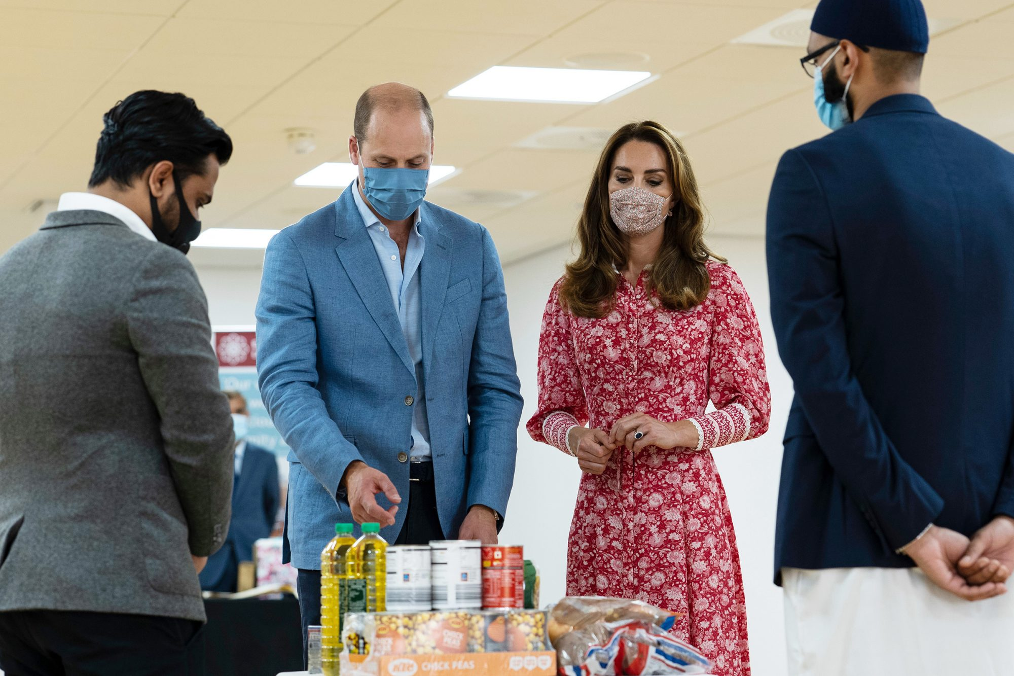 Prince William and Catherine Duchess of Cambridge visit The East London Mosque, UK - 15 Sep 2020