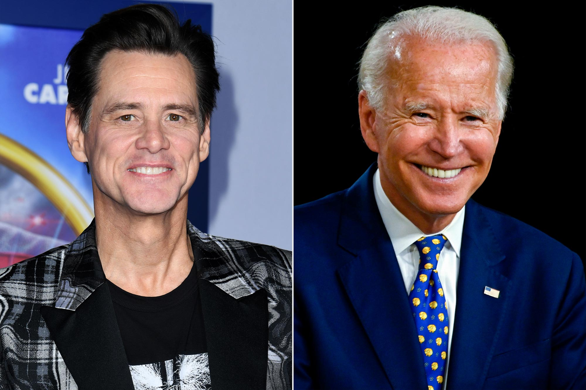 Jim Carrey, Joe Biden